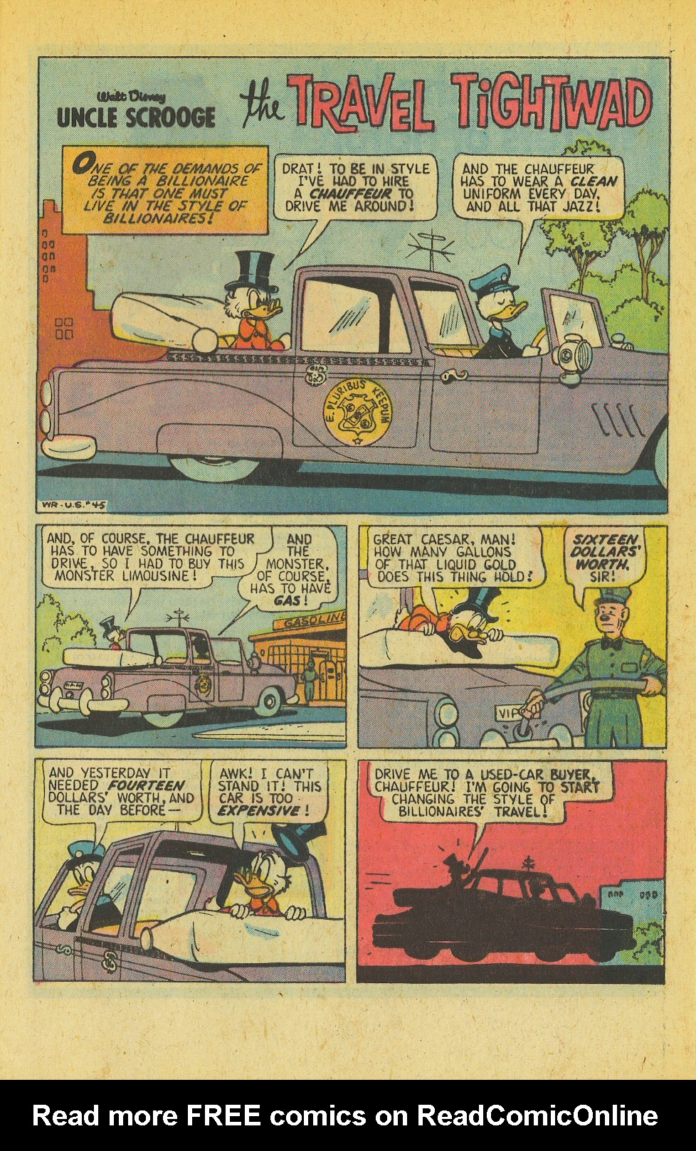 Read online Uncle Scrooge (1953) comic -  Issue #139 - 29