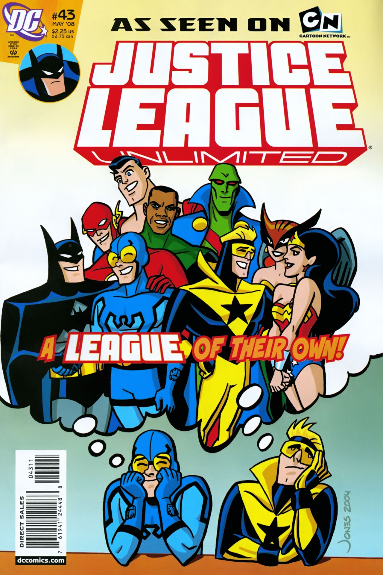 Justice League Unlimited 43 Page 1
