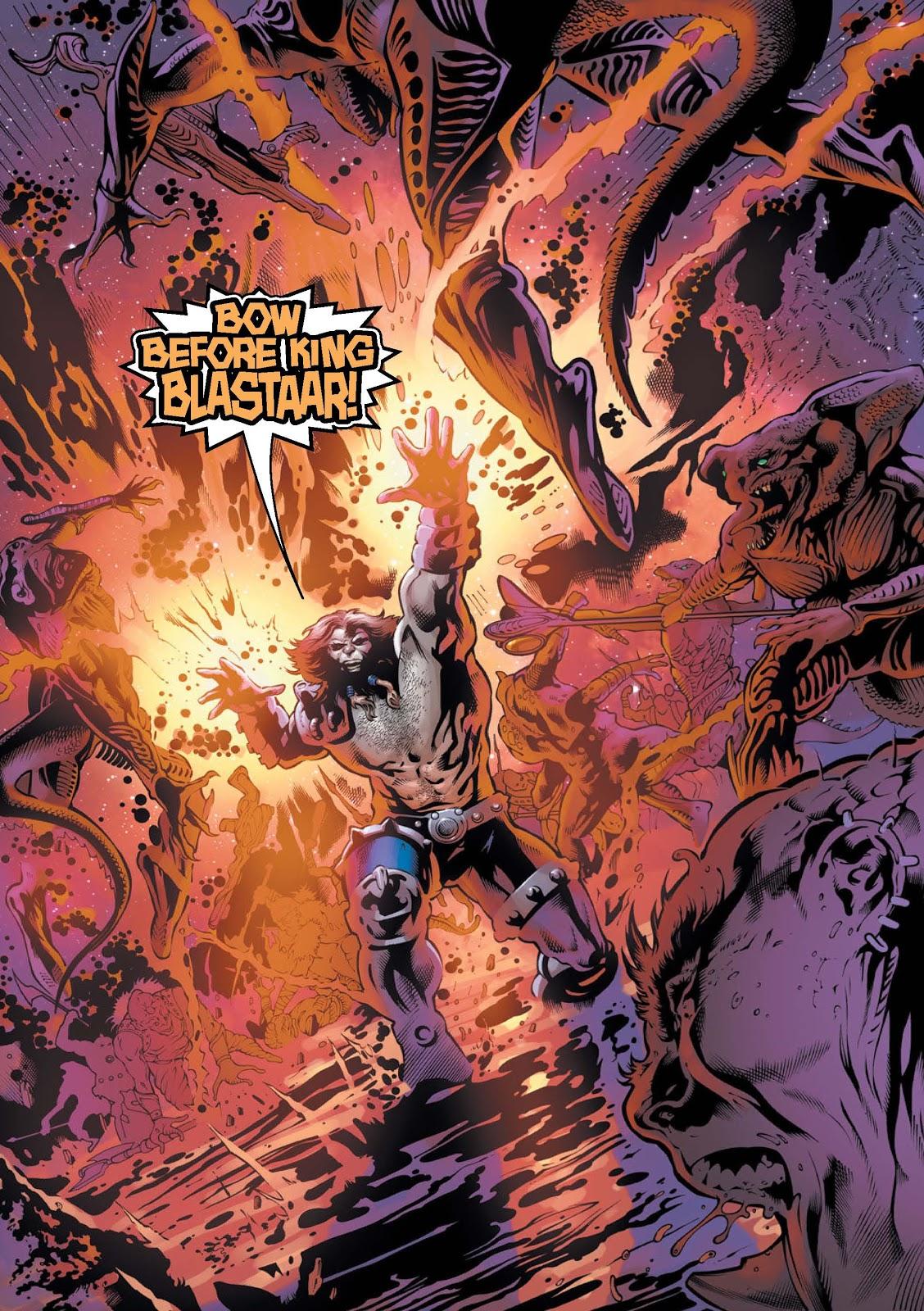 War of Kings: Warriors - Blastaar Issue #1 #1 - English 3