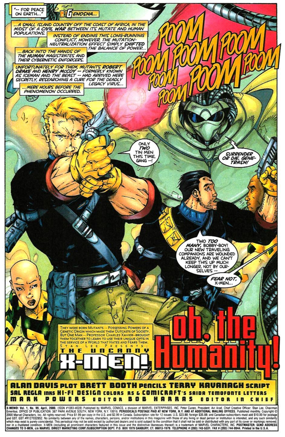 X-Men (1991) 99 Page 3