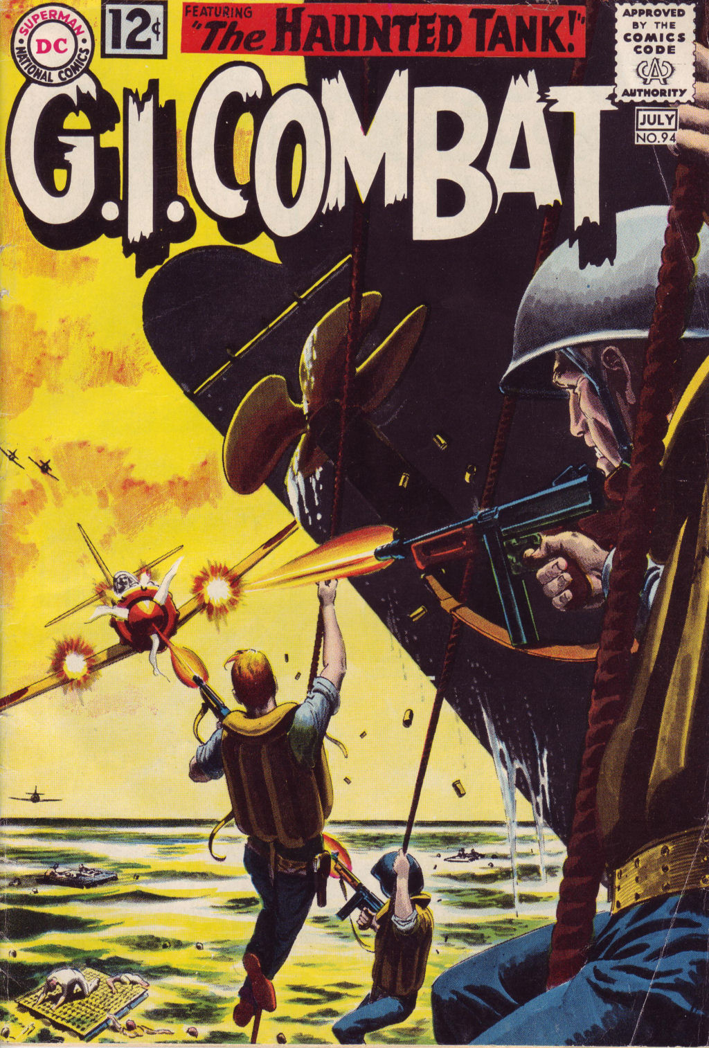 G.I. Combat (1952) 94 Page 1