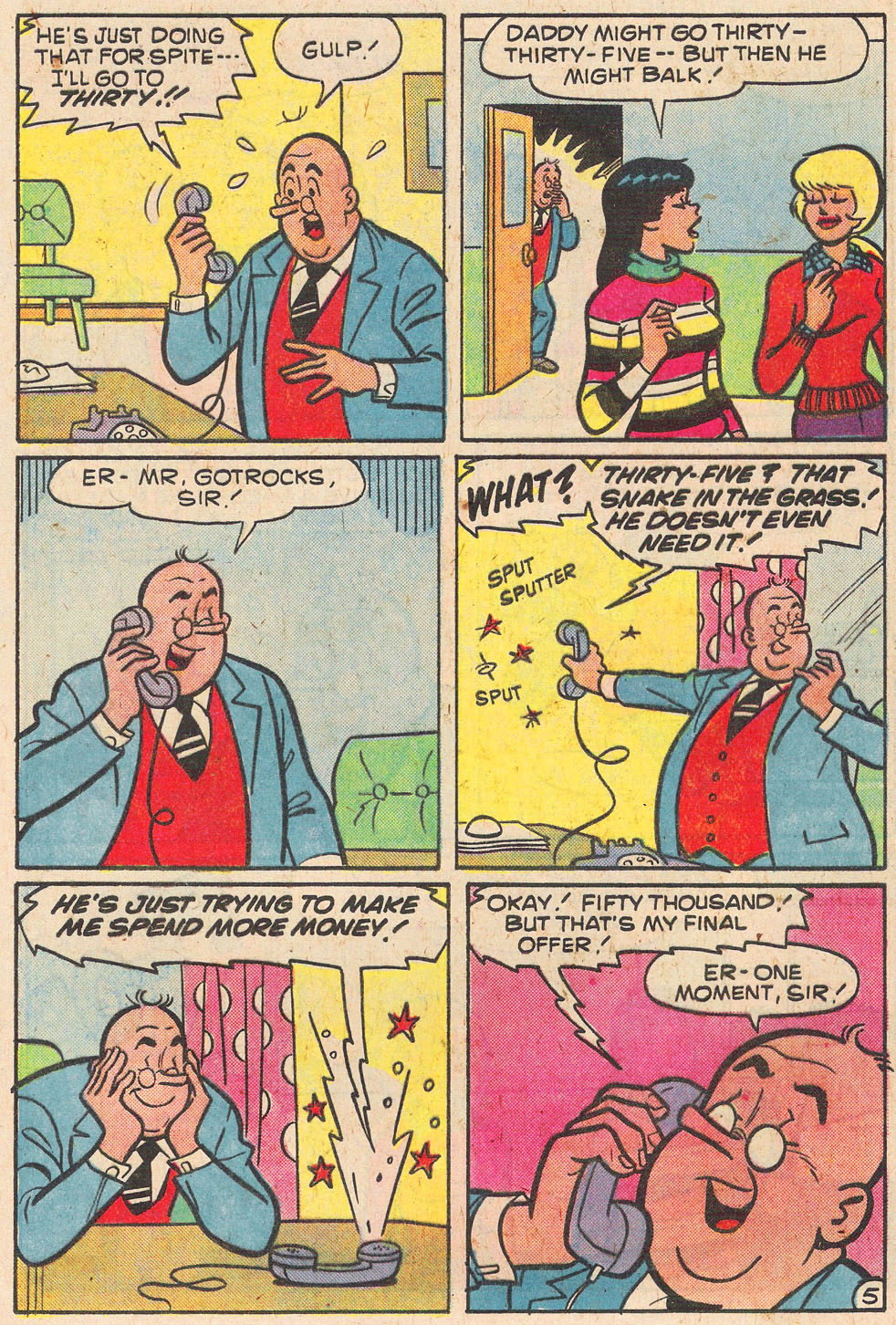 Read online Archie's Girls Betty and Veronica comic -  Issue #269 - 17