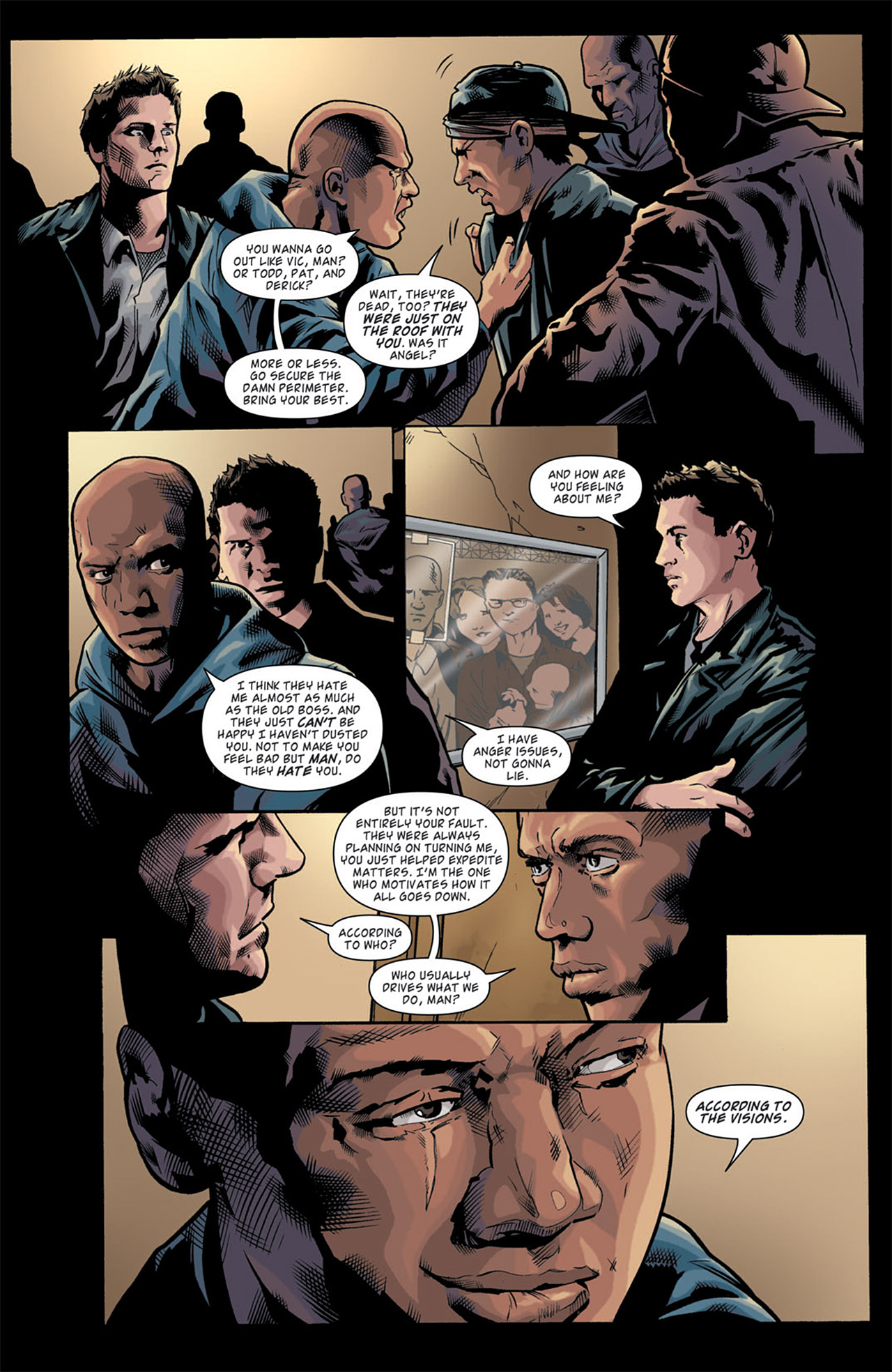 Read online Angel: After The Fall comic -  Issue #11 - 12