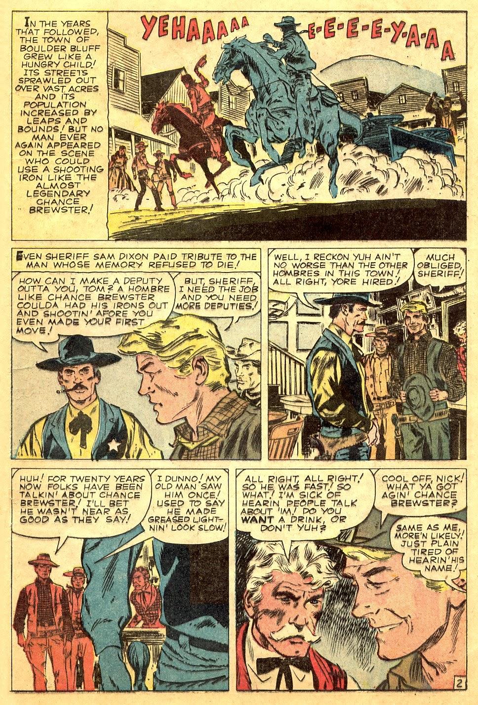 Gunsmoke Western issue 63 - Page 21