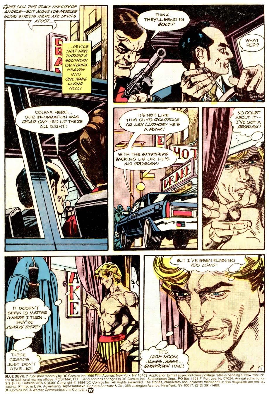 Blue Devil 7 Page 2