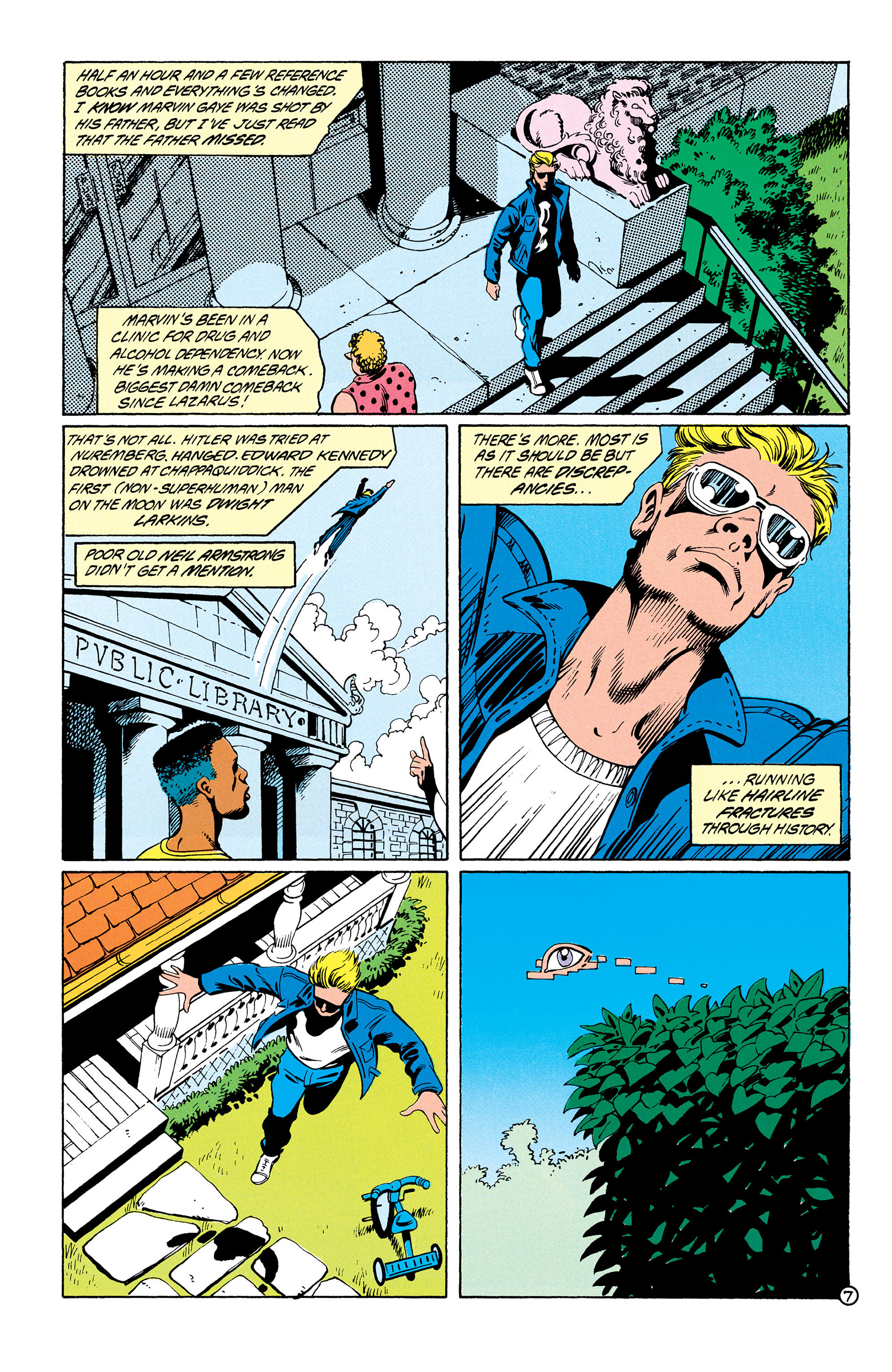 Read online Animal Man (1988) comic -  Issue #28 - 8