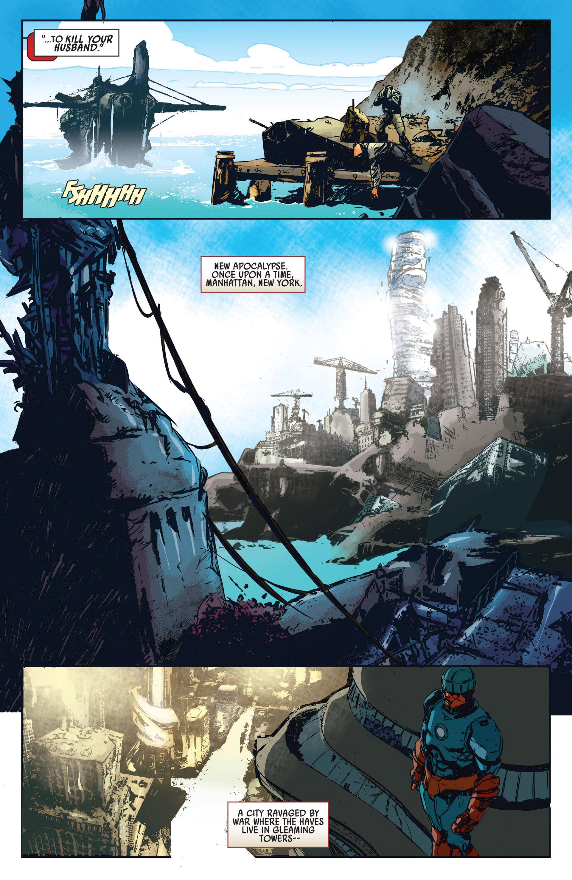 Read online Age of Apocalypse (2012) comic -  Issue #1 - 8