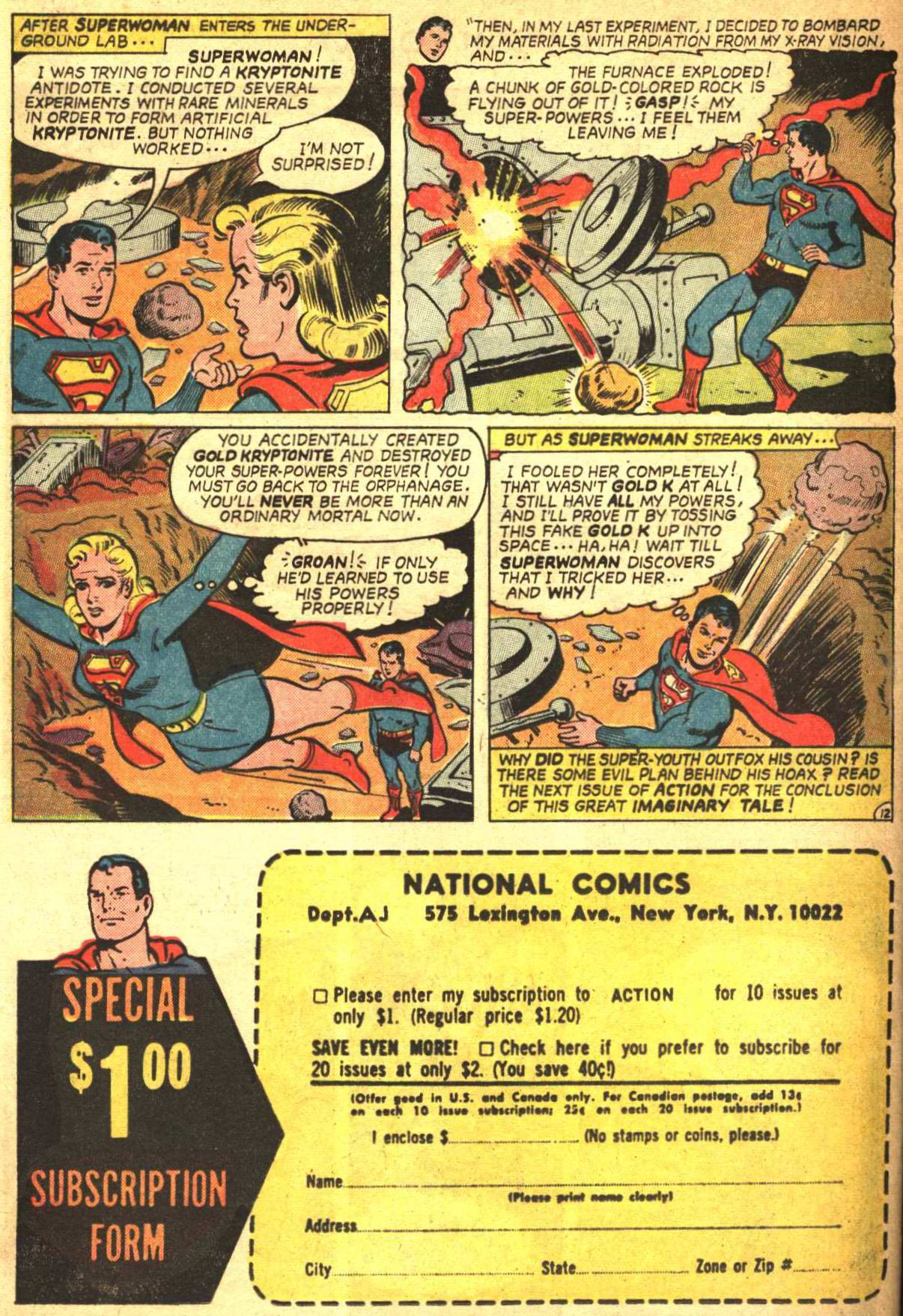 Read online Action Comics (1938) comic -  Issue #332 - 32