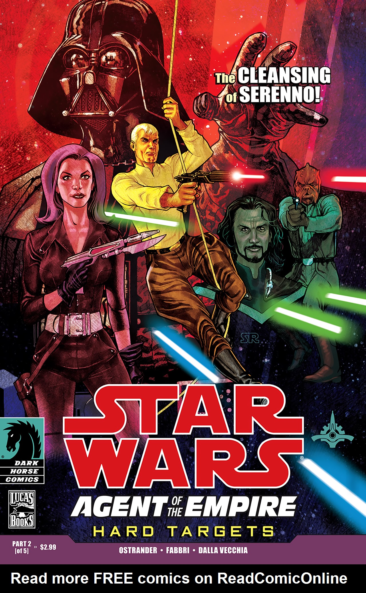 Read online Star Wars: Agent Of The Empire - Hard Targets comic -  Issue #2 - 1