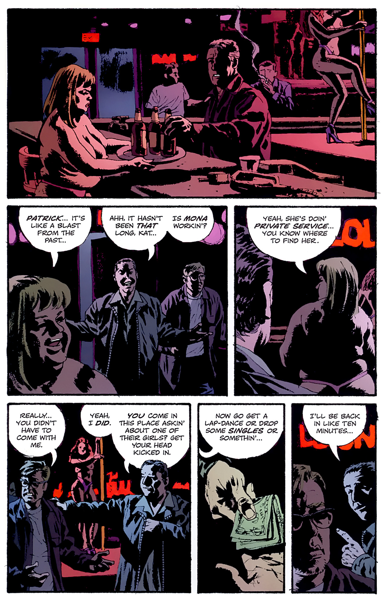 Read online Criminal (2008) comic -  Issue #6 - 22