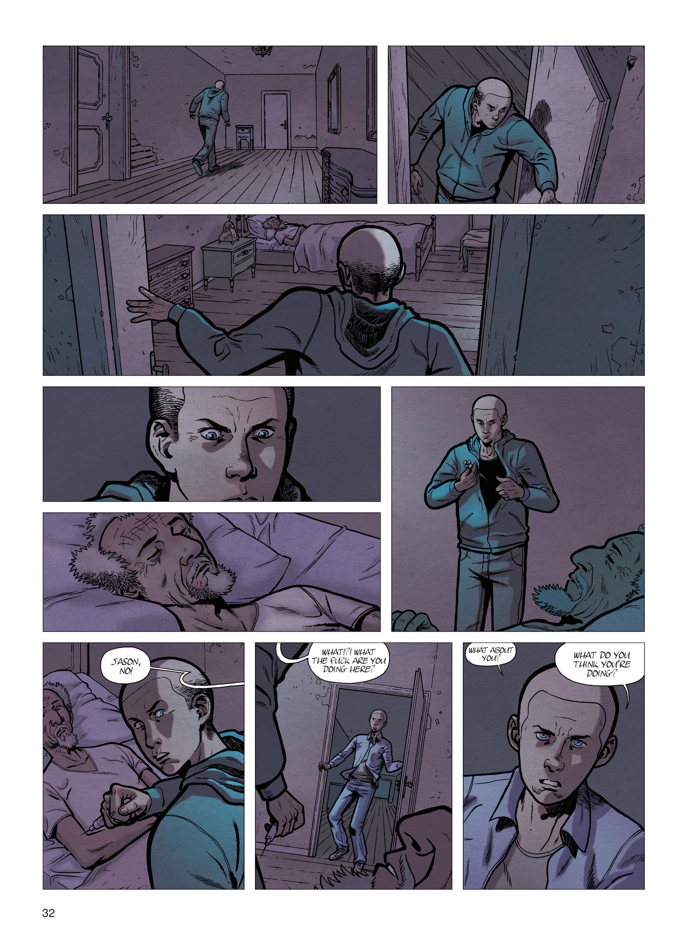 Read online Alter Ego comic -  Issue #4 - 34