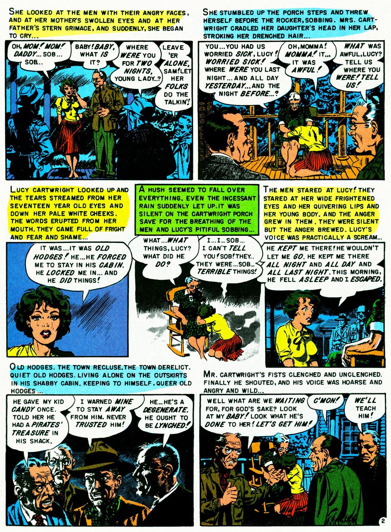 Read online Shock SuspenStories comic -  Issue #8 - 12