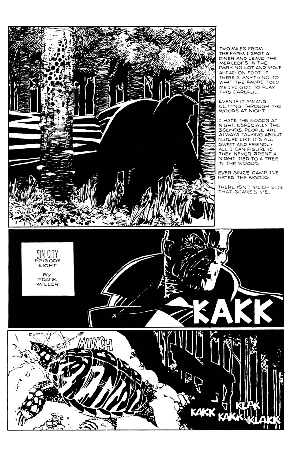 Sin City 8 Page 1