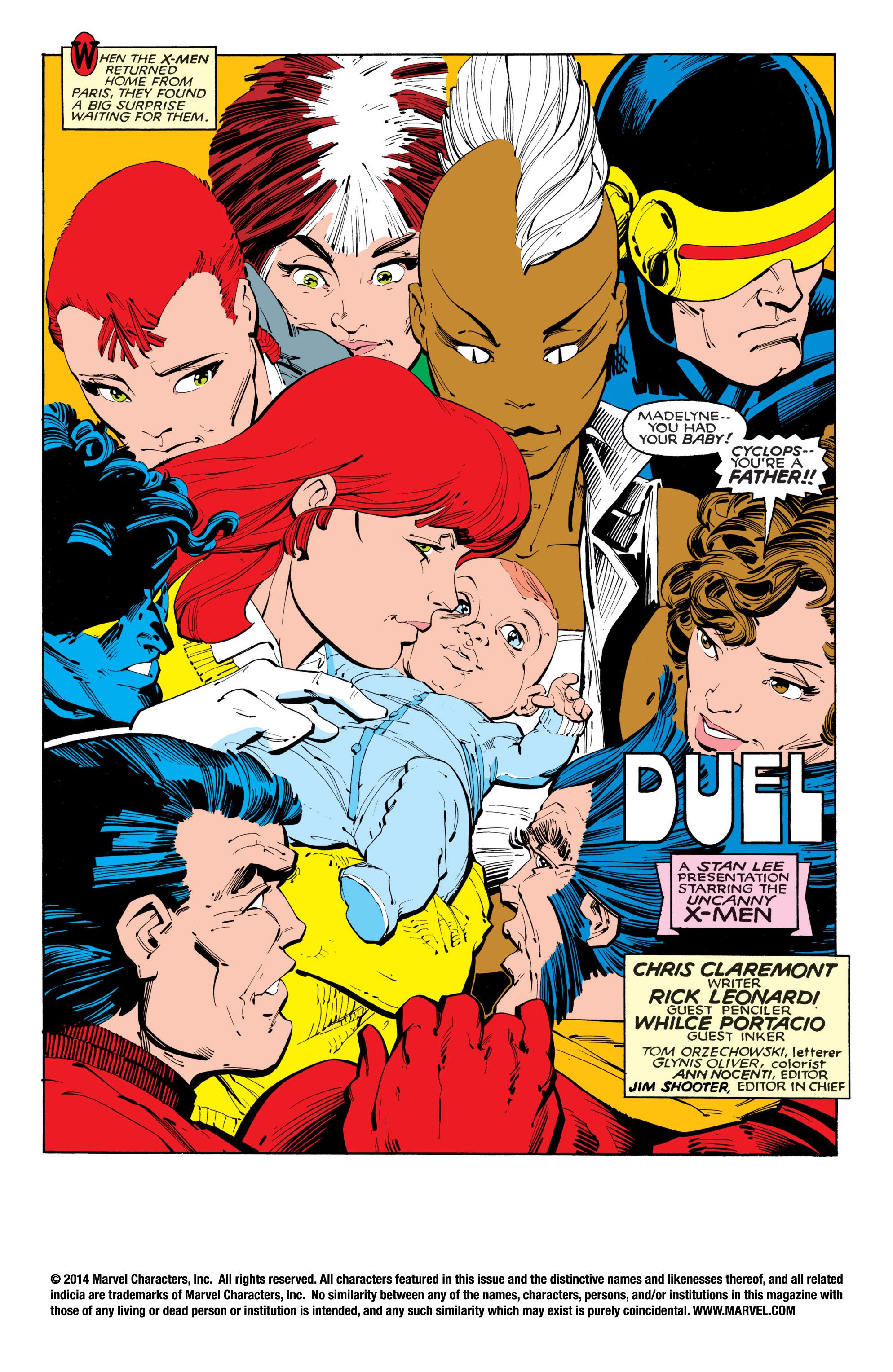 Read online Uncanny X-Men (1963) comic -  Issue #201 - 2