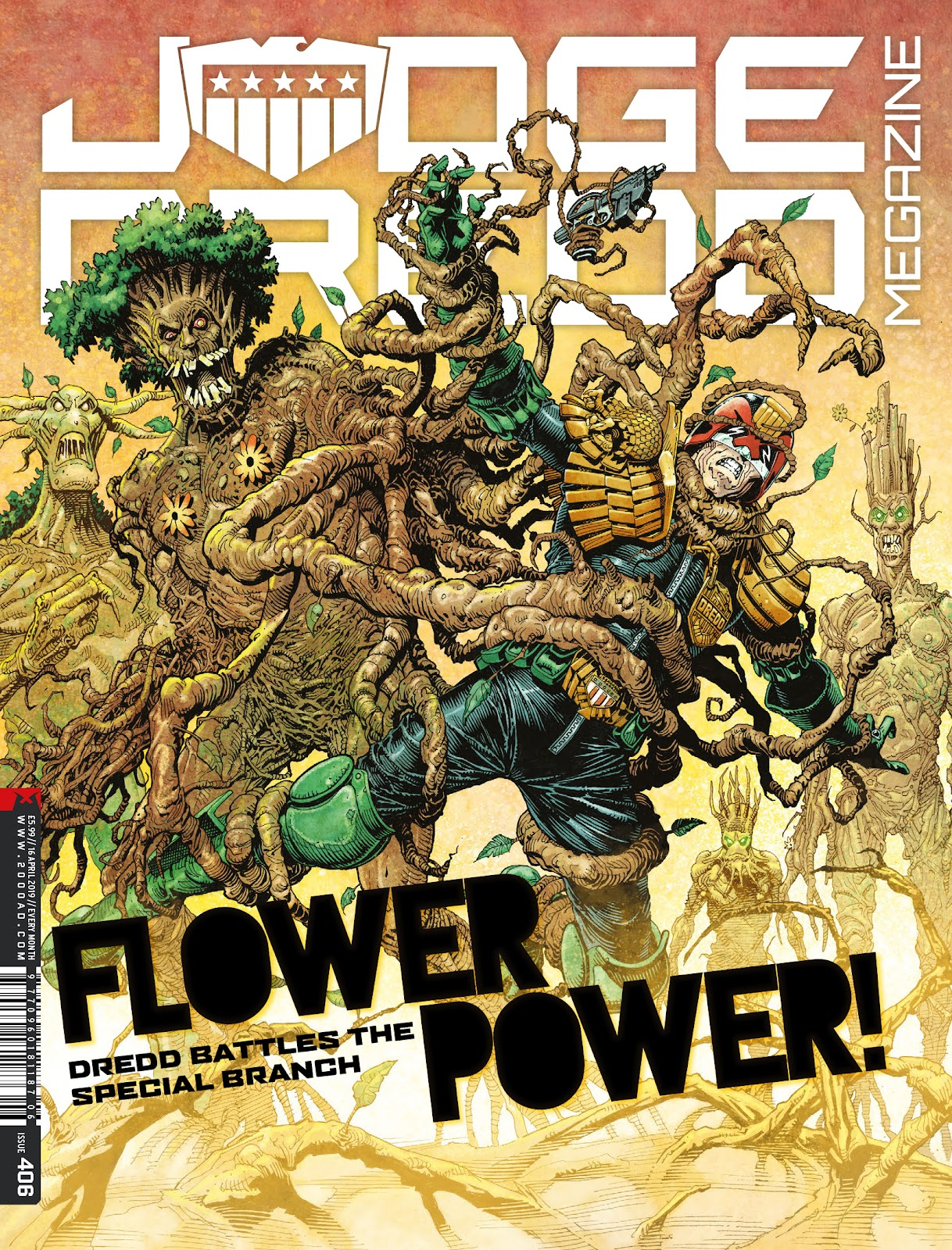 Judge Dredd Megazine (Vol.5) issue 406 - Page 1