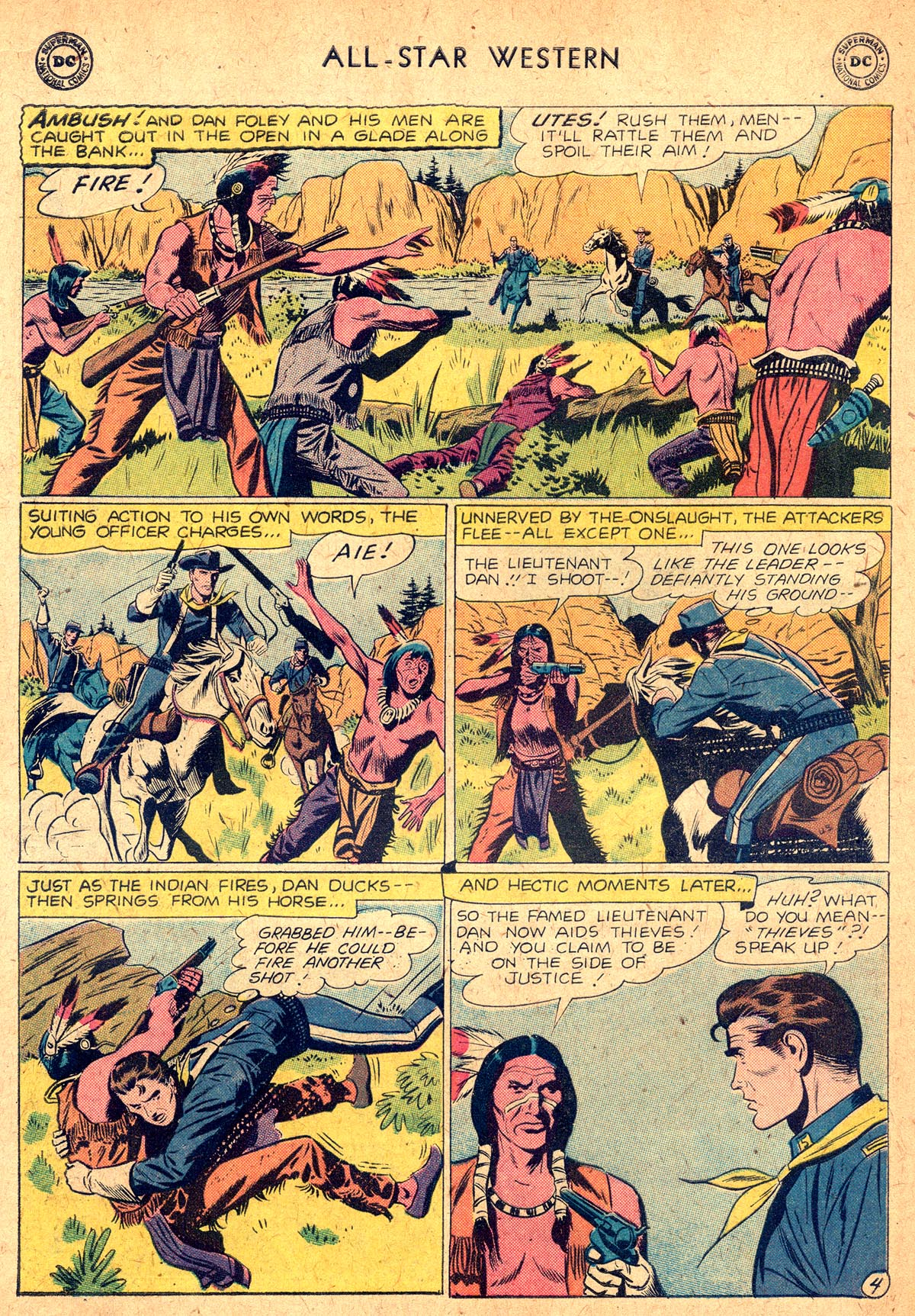 Read online All-Star Western (1951) comic -  Issue #104 - 18