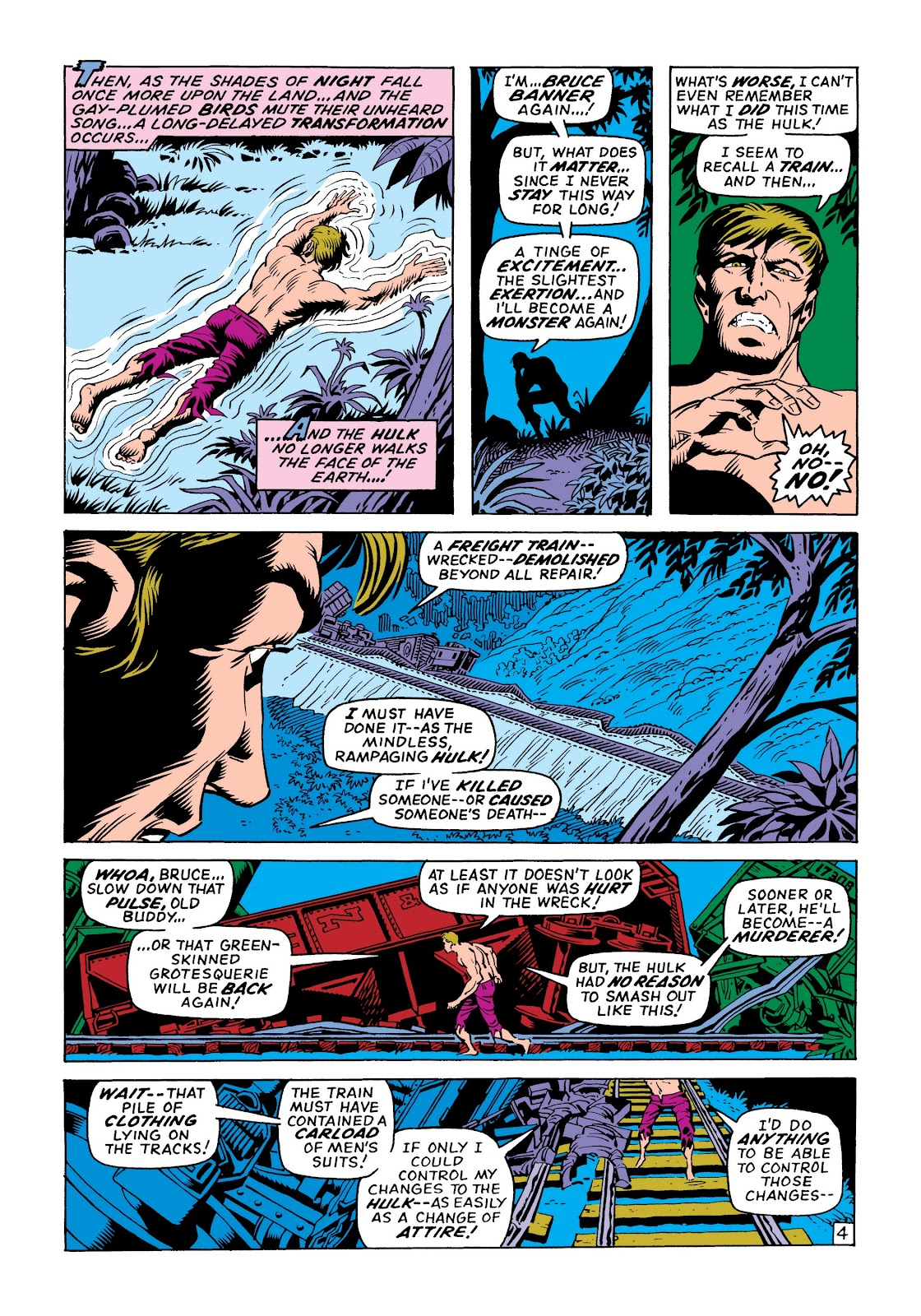 Read online Marvel Masterworks: The Incredible Hulk comic -  Issue # TPB 6 (Part 1) - 13