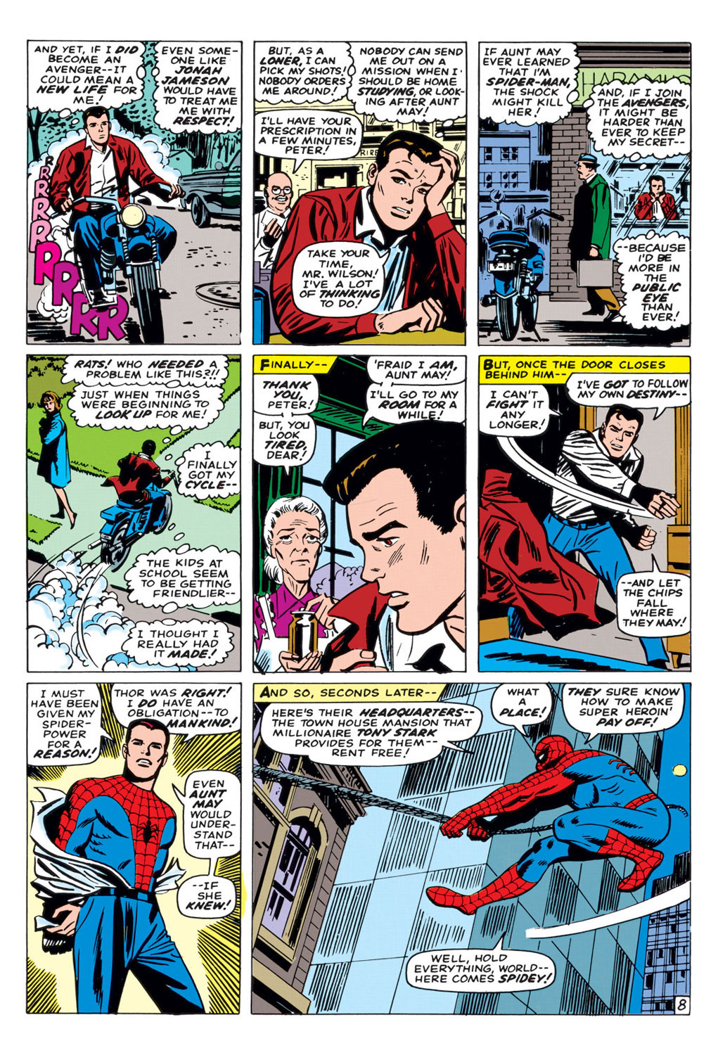 The Amazing Spider-Man (1963) _Annual_3 Page 8