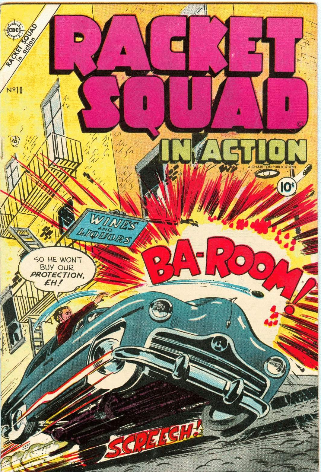 Read online Racket Squad in Action comic -  Issue #10 - 1