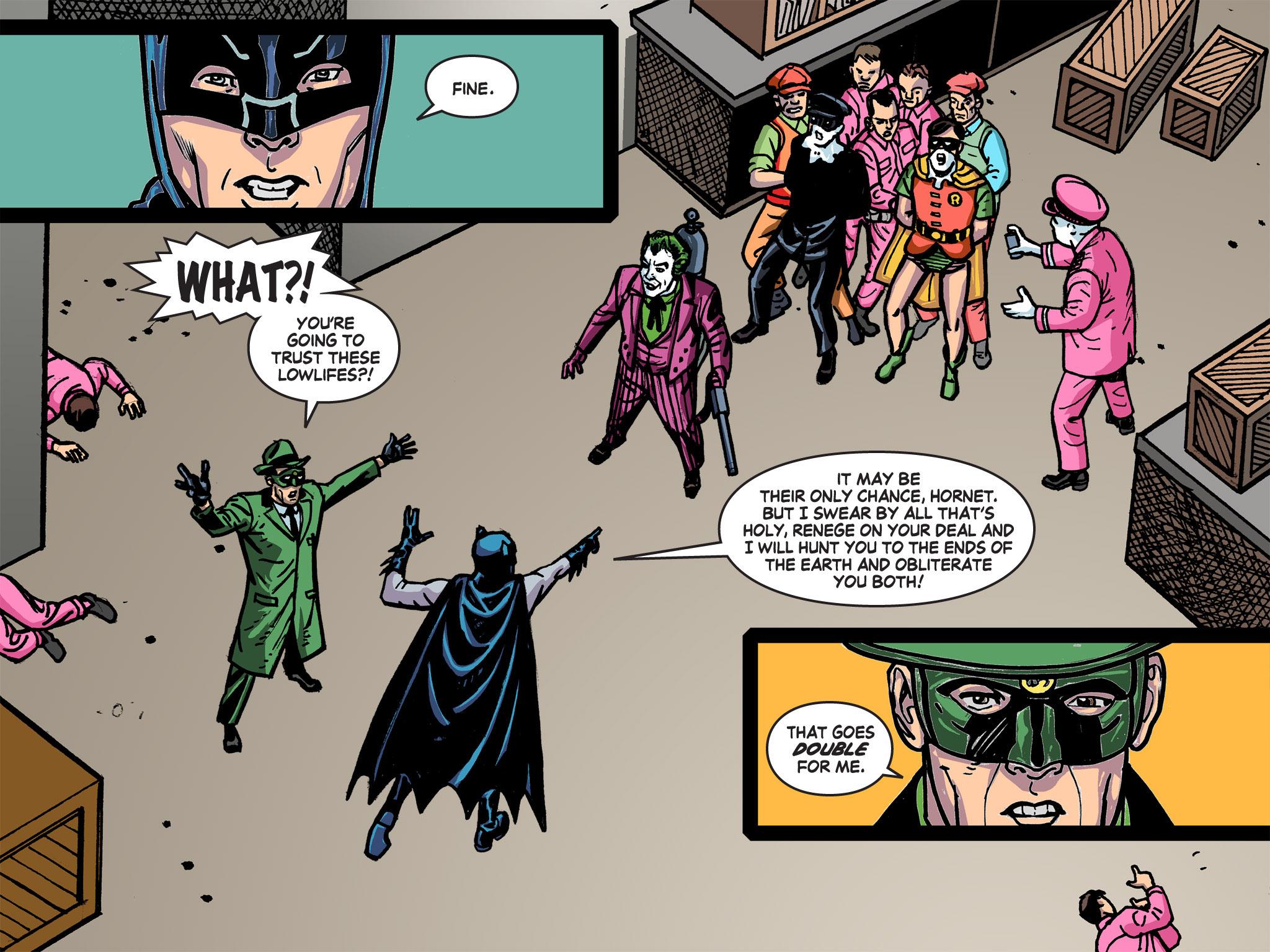 Read online Batman '66 Meets the Green Hornet [II] comic -  Issue #5 - 14