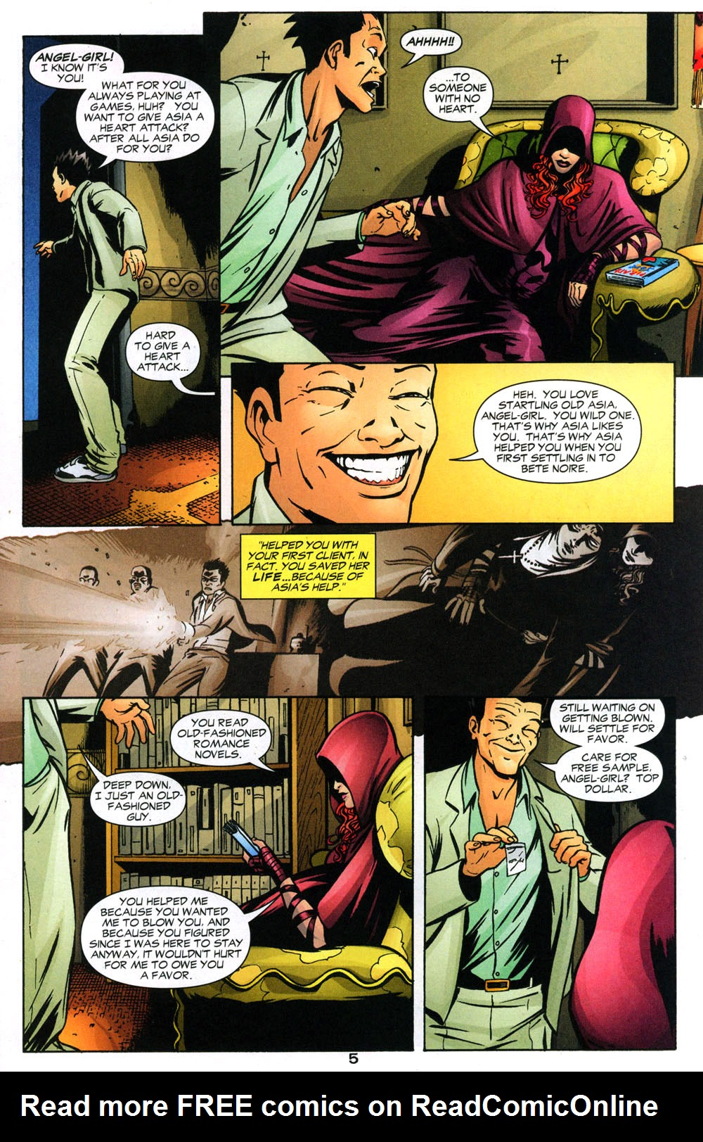 Read online Fallen Angel (2003) comic -  Issue #2 - 6