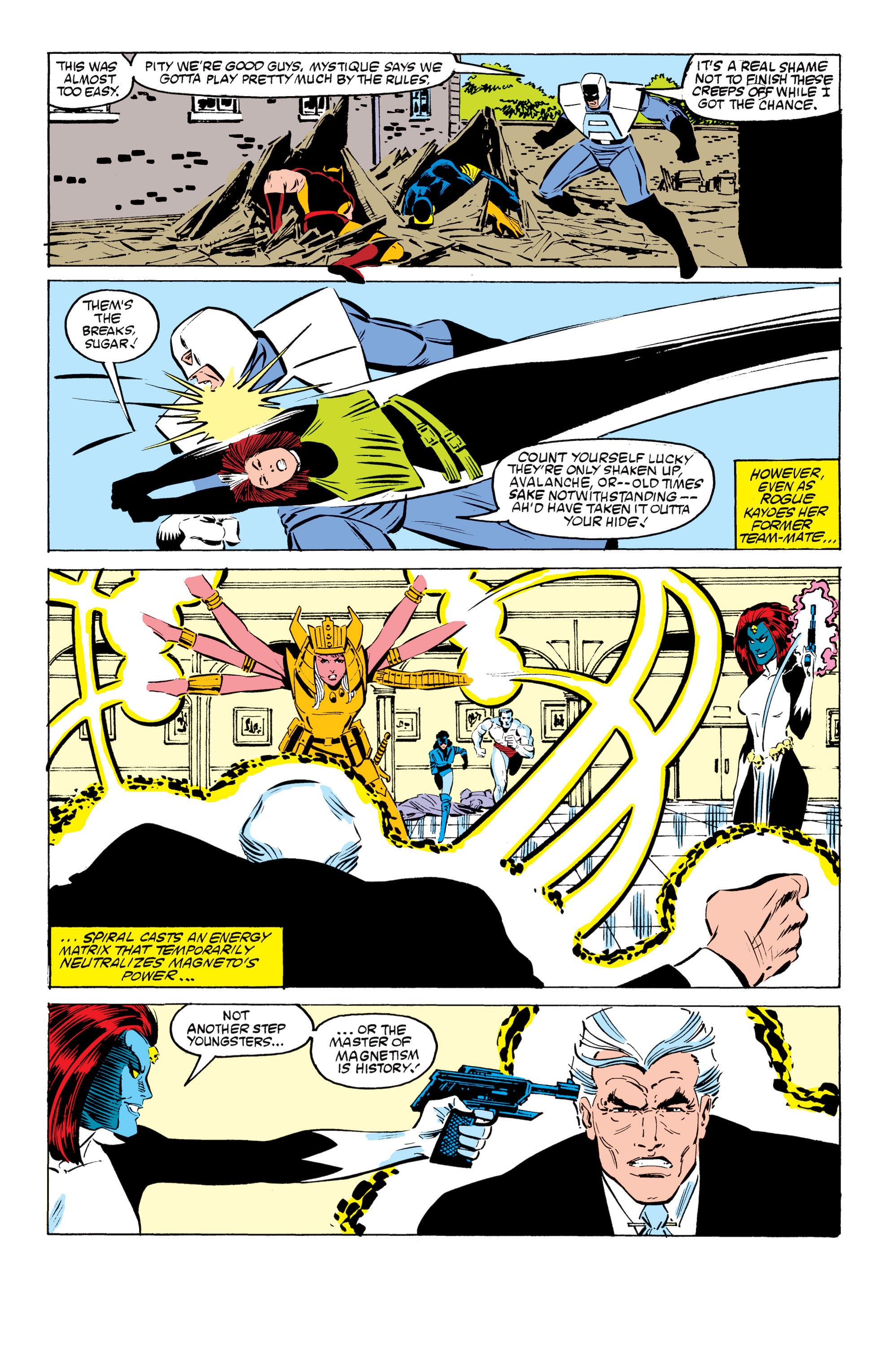 Read online Uncanny X-Men (1963) comic -  Issue #199 - 22