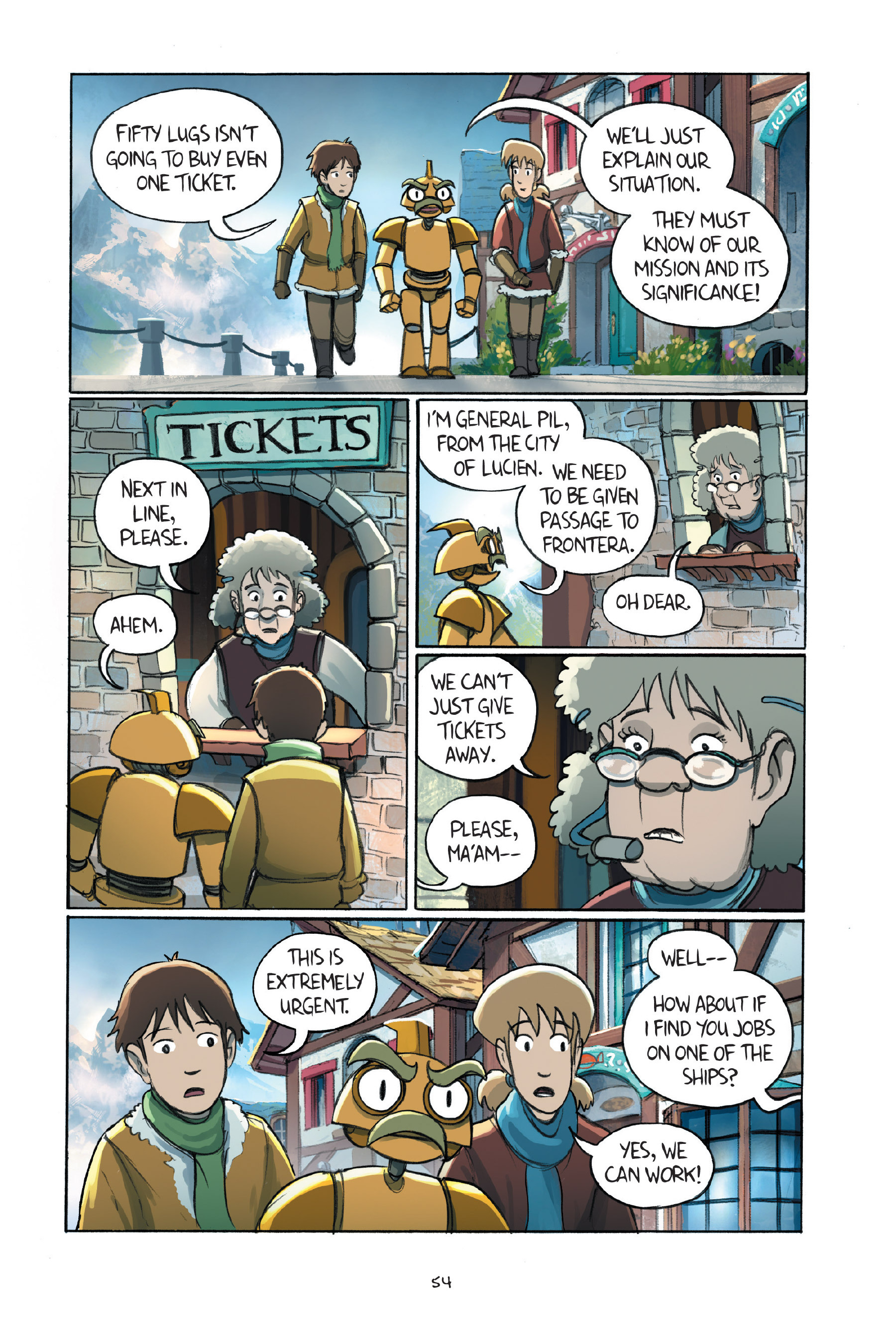 Read online Amulet comic -  Issue #7 - 56