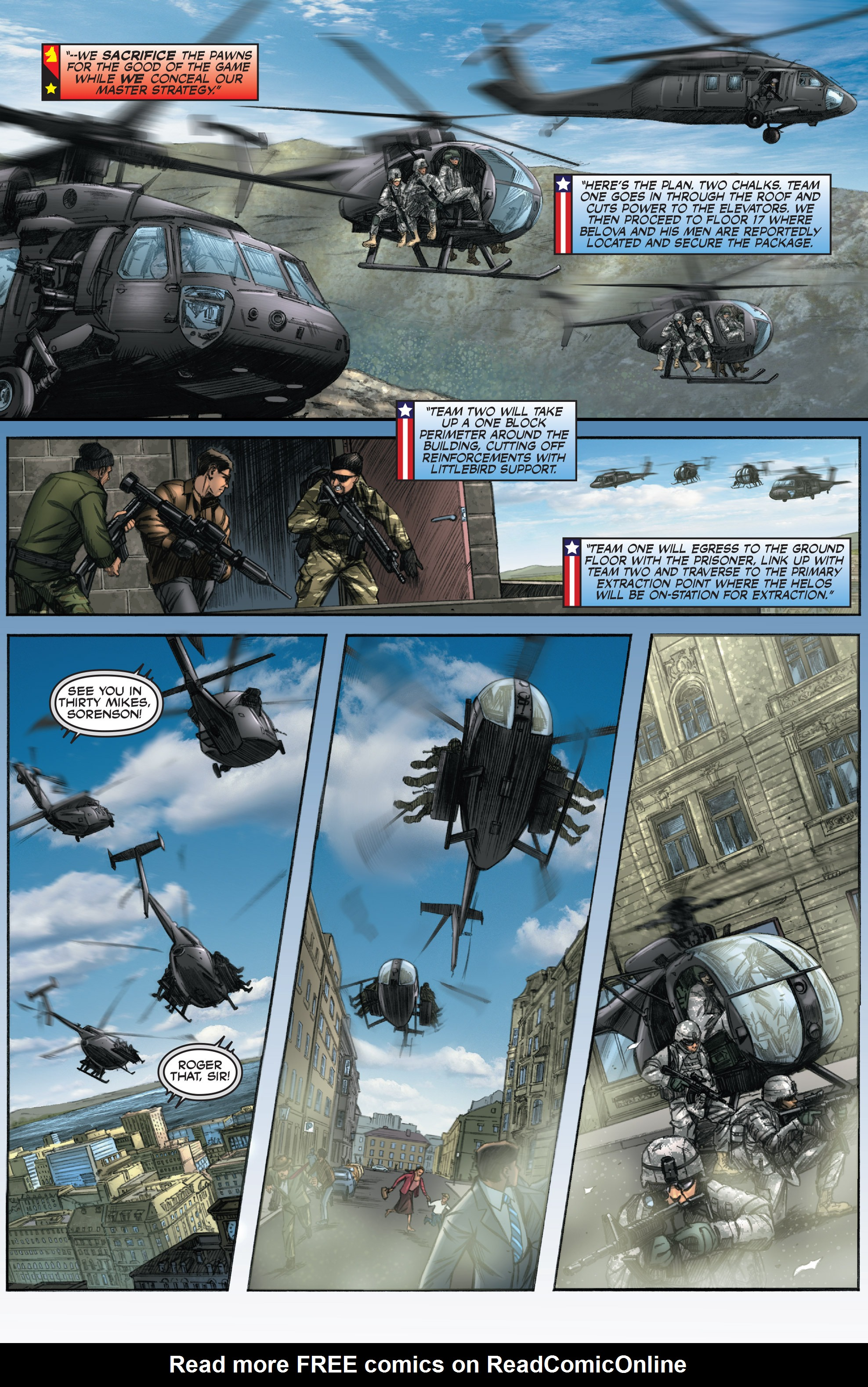 Read online America's Army comic -  Issue #0 - 10