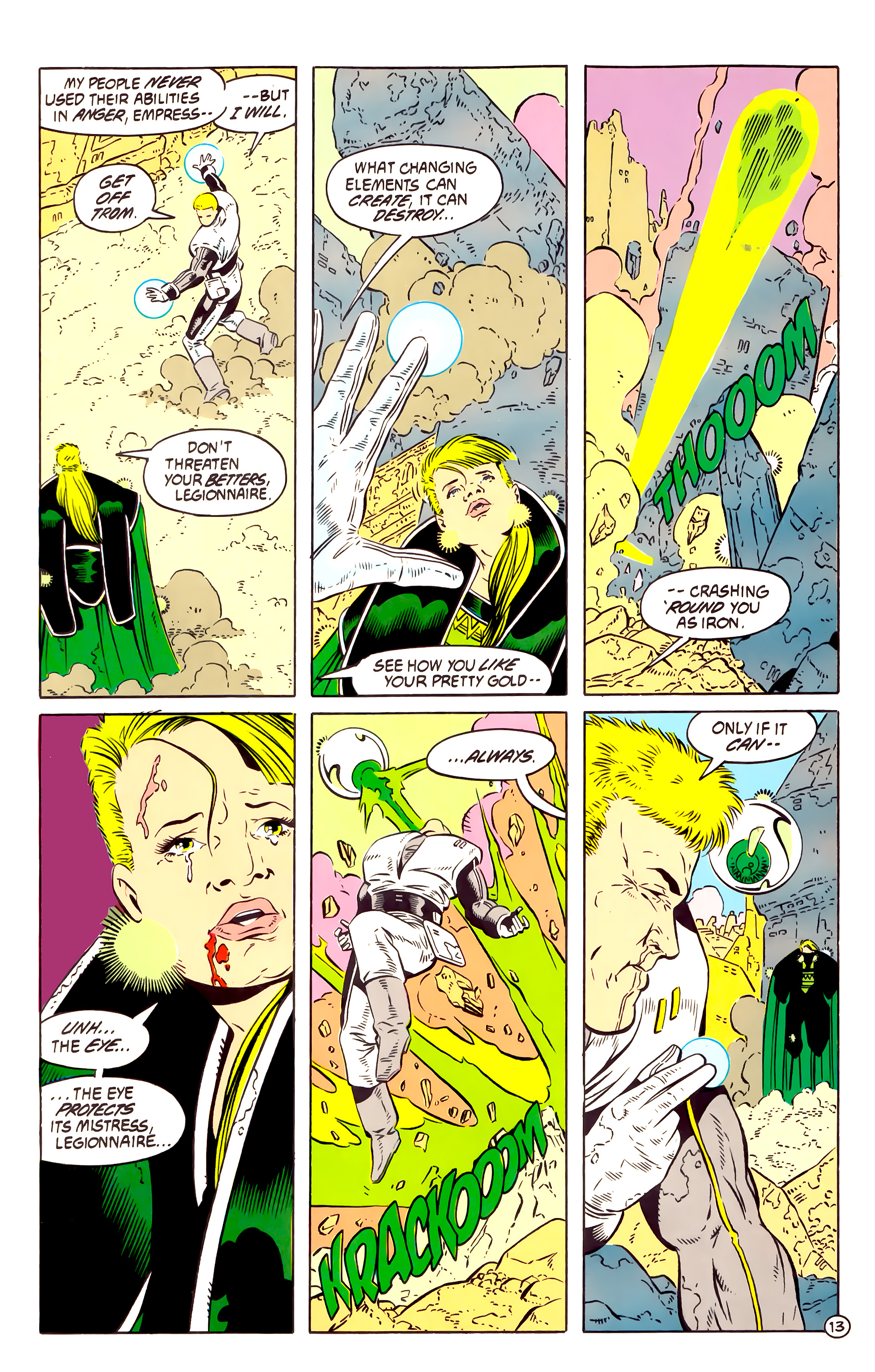 Legion of Super-Heroes (1984) 58 Page 13