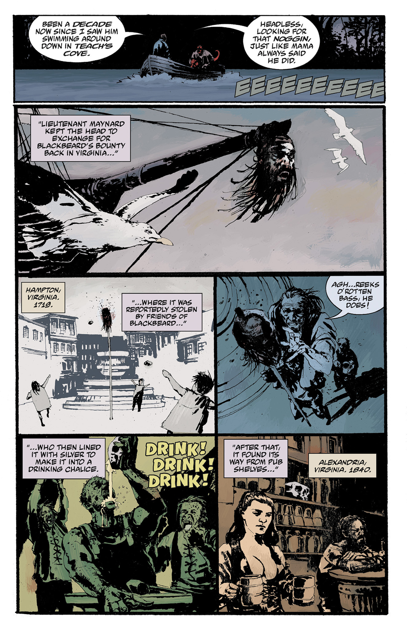Read online Hellboy: The Crooked Man and Others comic -  Issue # TPB - 95