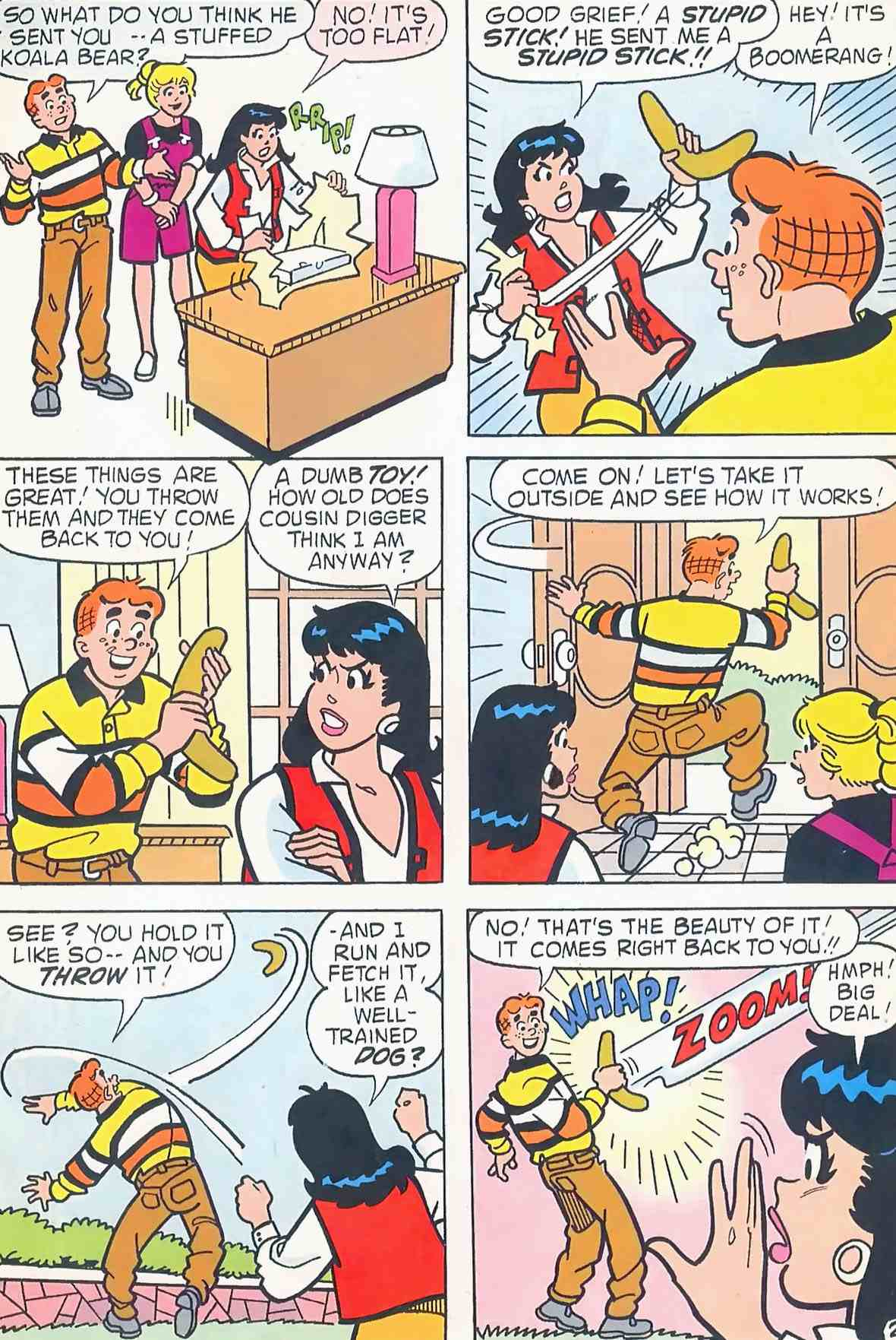 Read online Archie (1960) comic -  Issue #454 - 8
