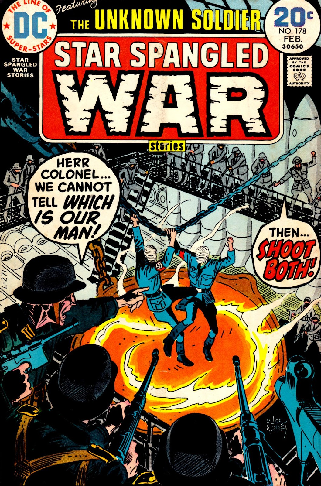 Star Spangled War Stories (1952) issue 178 - Page 1