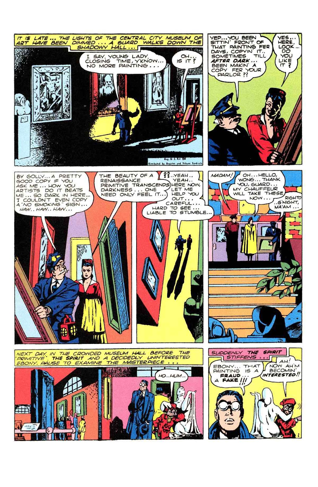 Read online Will Eisner's The Spirit Archives comic -  Issue # TPB 2 (Part 2) - 54