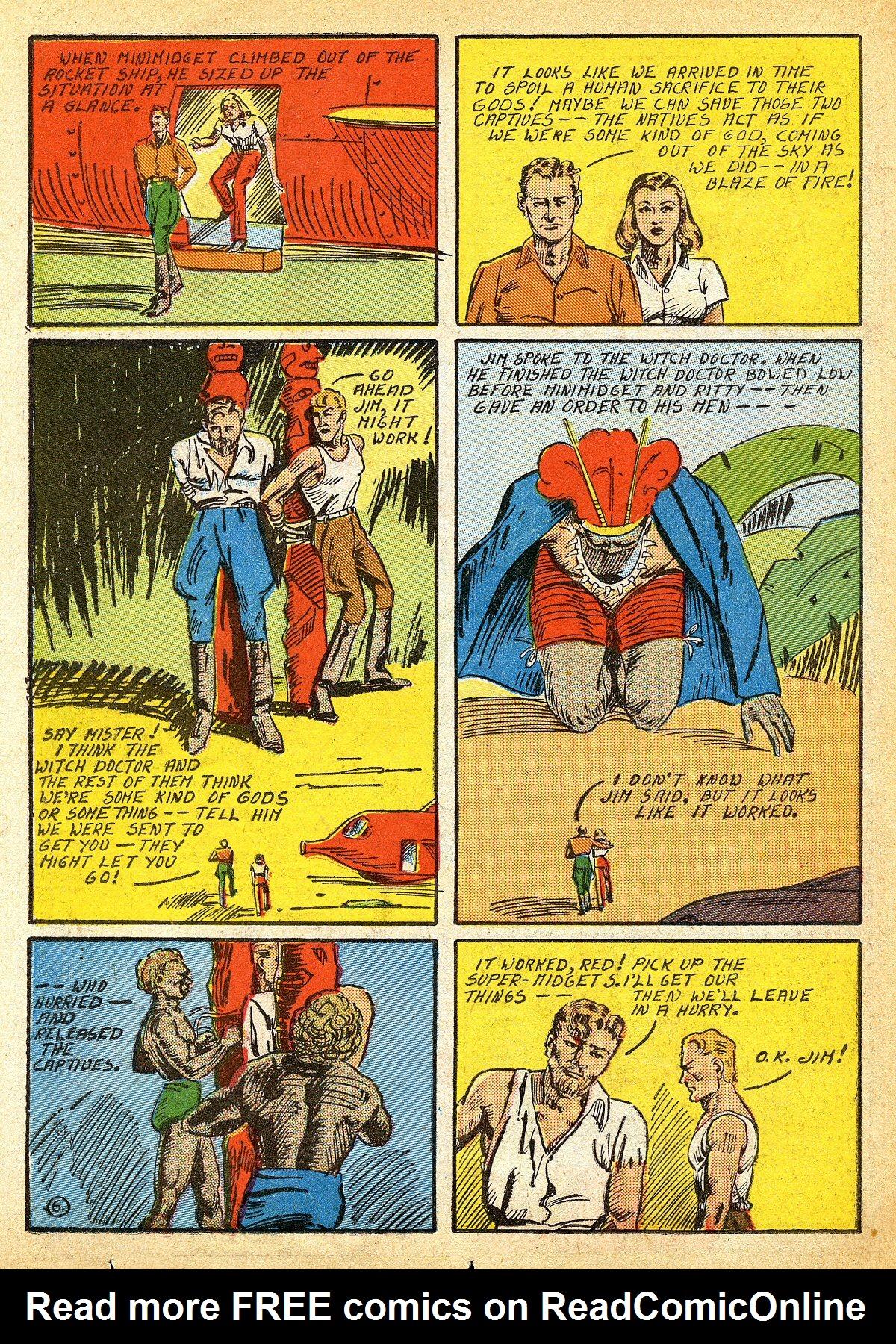 Read online Amazing Man Comics comic -  Issue #10 - 43