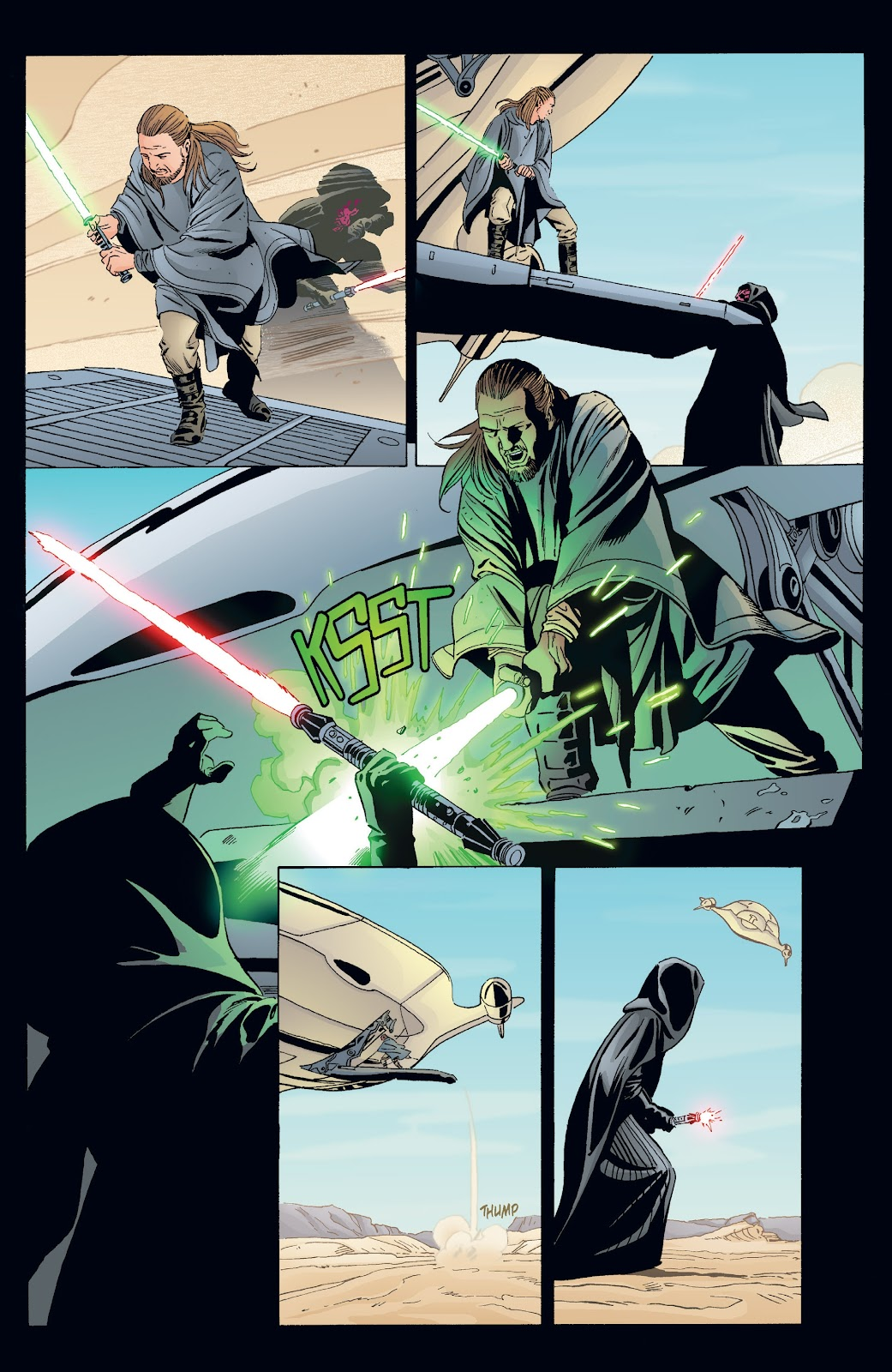 Read online Star Wars Legends: Rise of the Sith - Epic Collection comic -  Issue # TPB 2 (Part 3) - 96