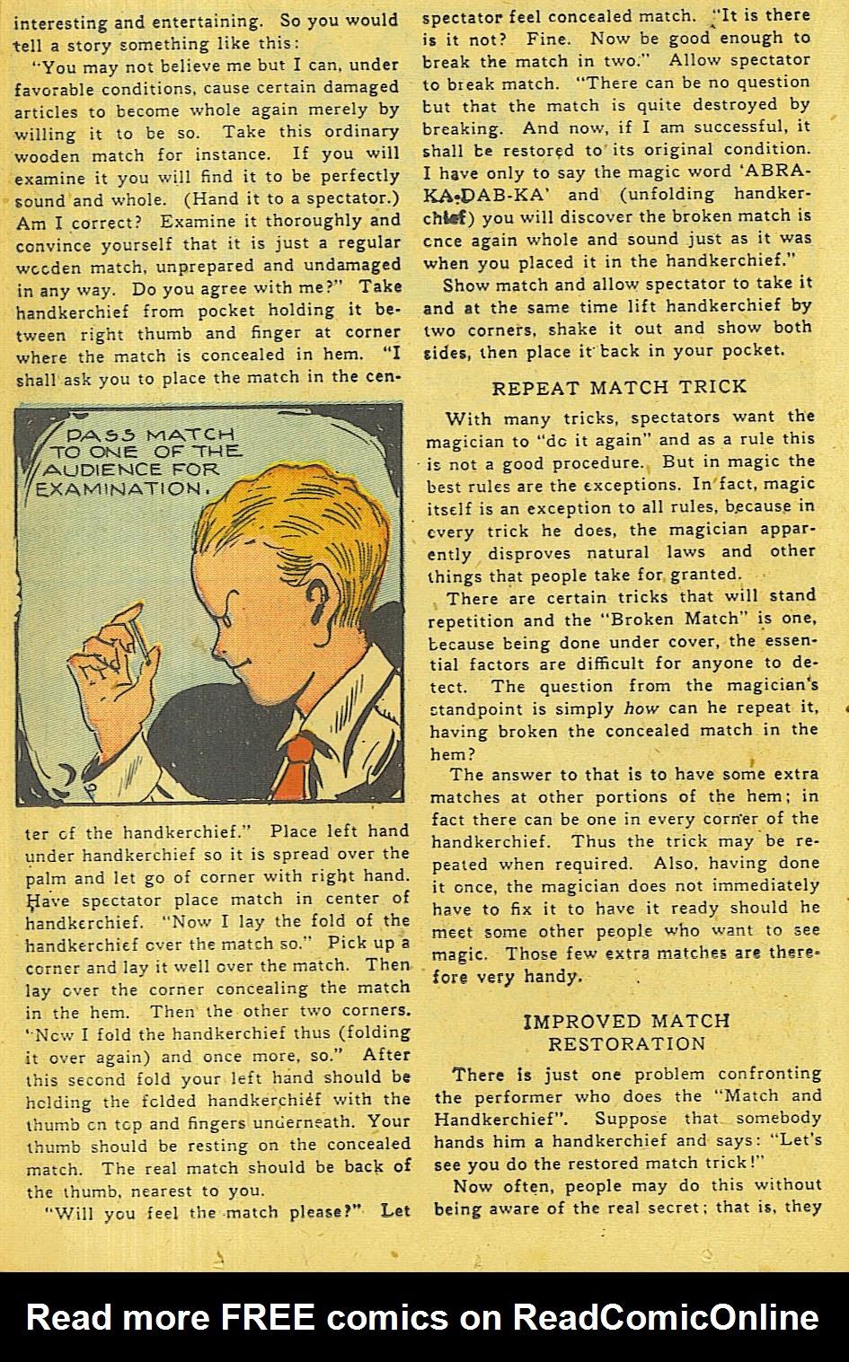 Read online Super-Magician Comics comic -  Issue #42 - 23