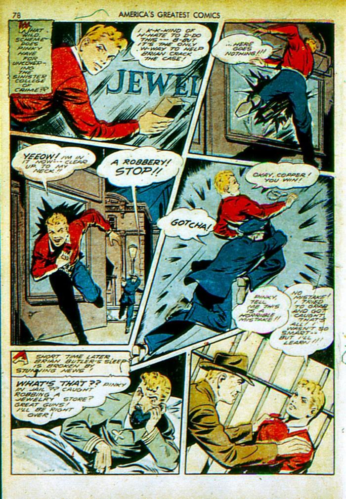 Read online America's Greatest Comics comic -  Issue #4 - 79