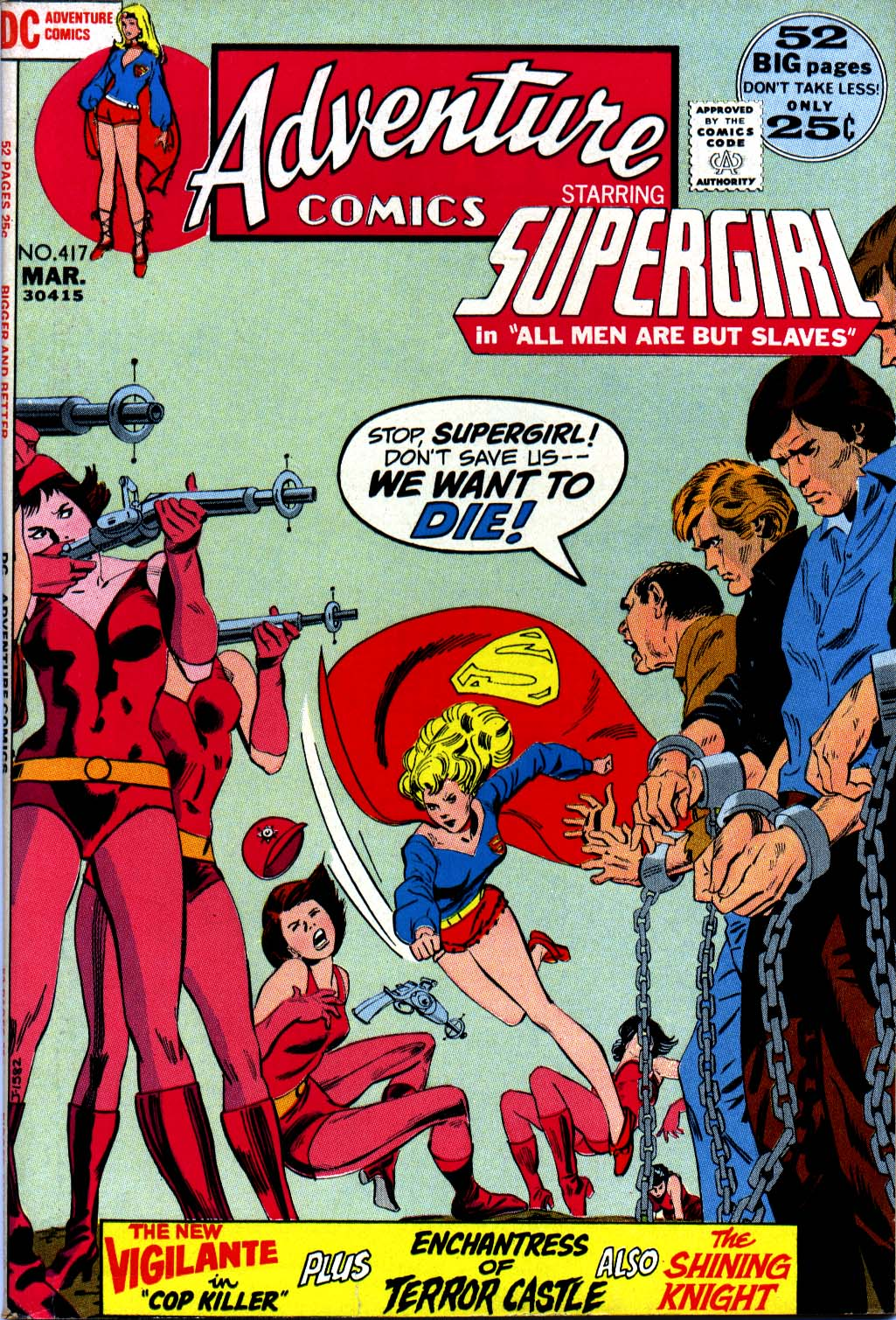 Read online Adventure Comics (1938) comic -  Issue #417 - 1