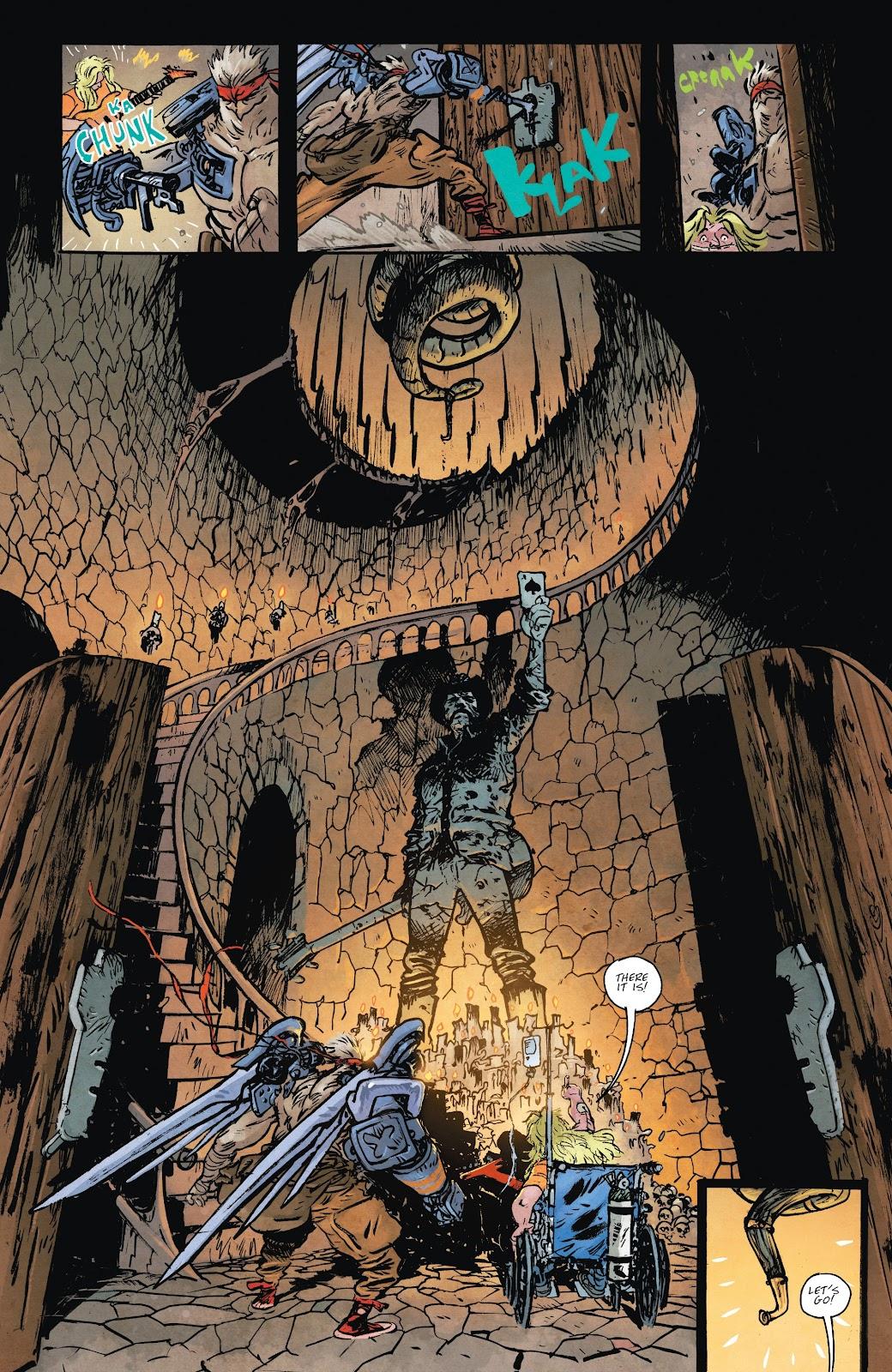 Read online Murder Falcon comic -  Issue #8 - 9
