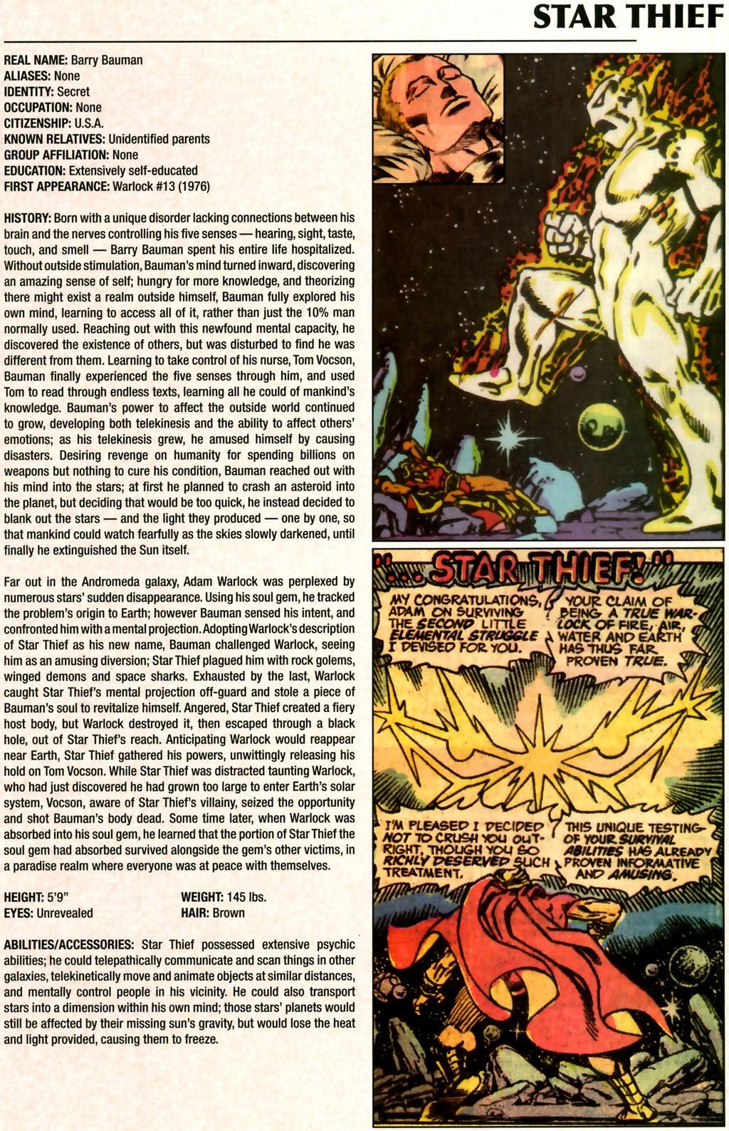 Read online Marvel Legacy: The 1970's Handbook comic -  Issue # Full - 55