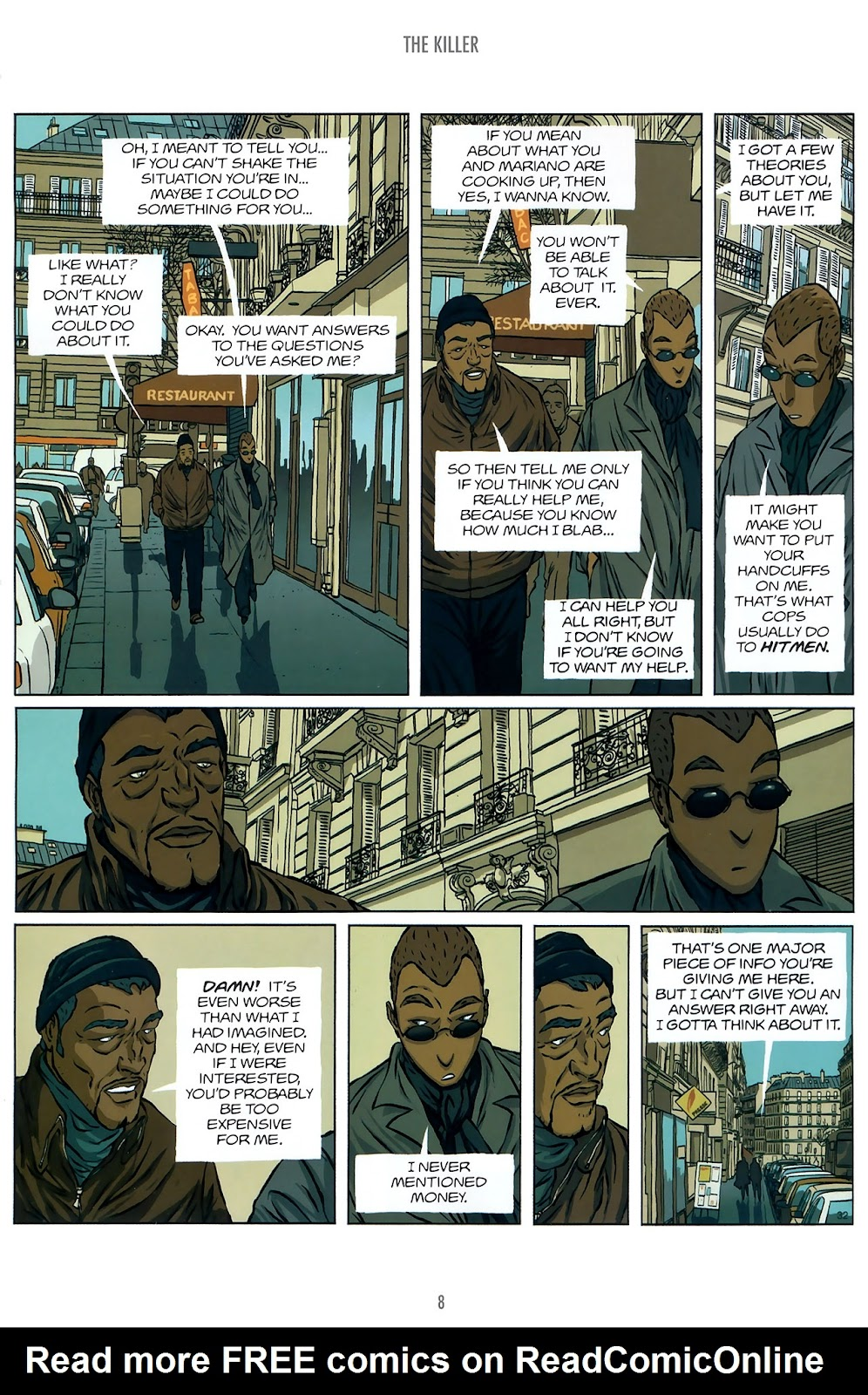 Read online The Killer comic -  Issue #10 - 8