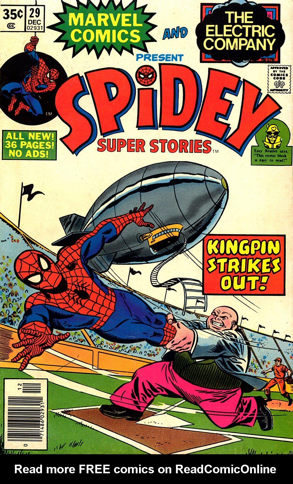 Spidey Super Stories 29 Page 1