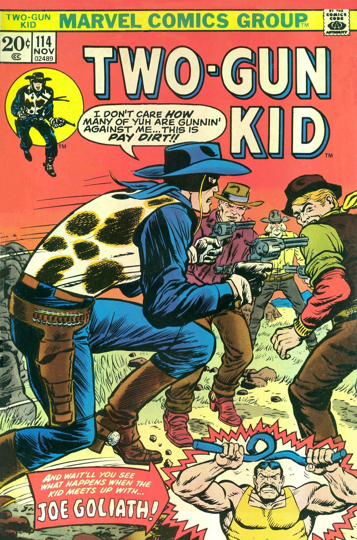 Read online Two-Gun Kid comic -  Issue #114 - 1