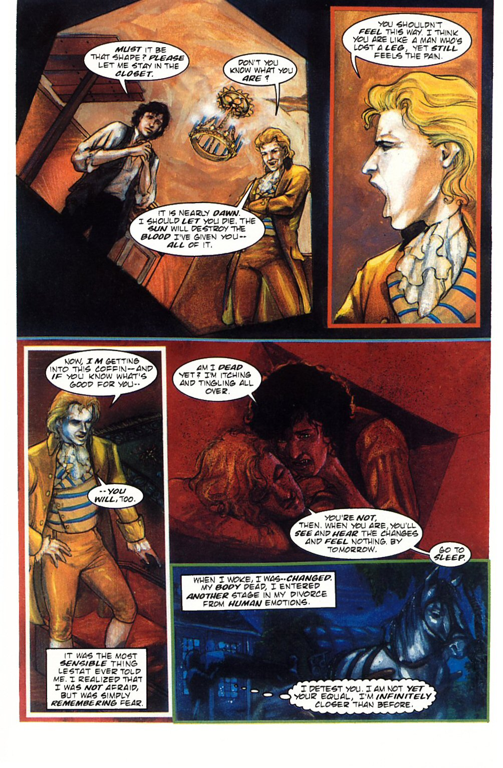 Read online Anne Rice's Interview with the Vampire comic -  Issue #1 - 25