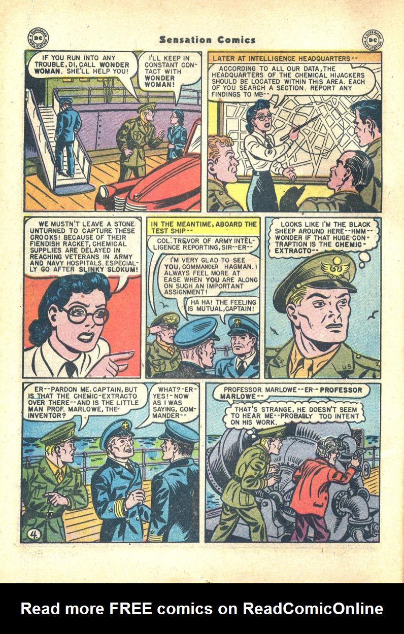 Read online Sensation (Mystery) Comics comic -  Issue #68 - 6