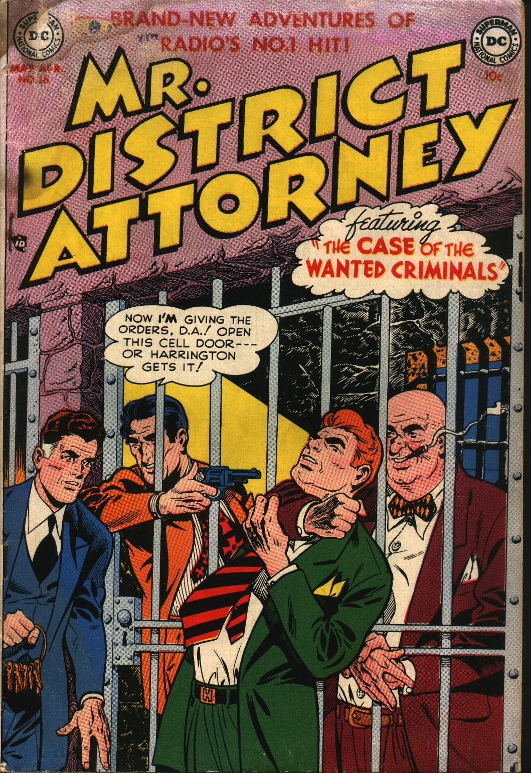 Mr. District Attorney issue 26 - Page 1