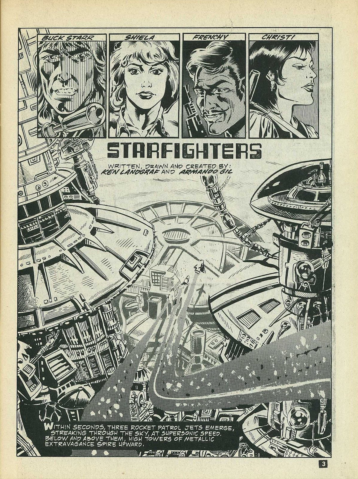Star Fighters issue 3 - Page 5