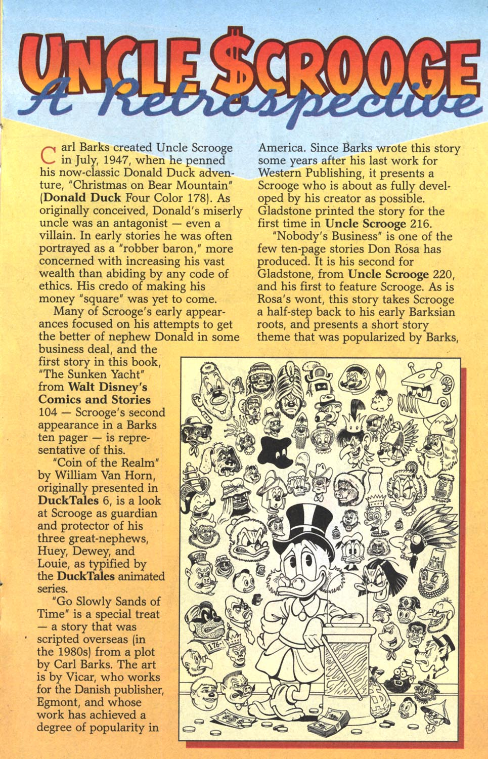 Read online Uncle Scrooge (1953) comic -  Issue #300 - 22
