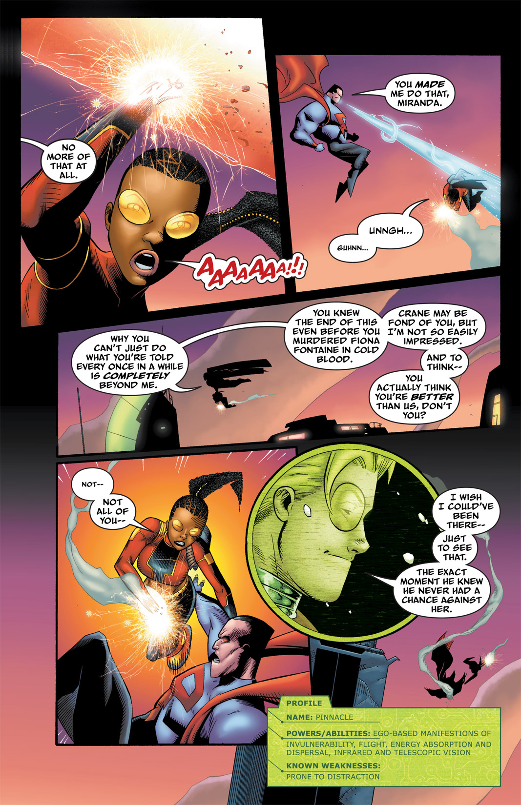 Read online The Many Adventures of Miranda Mercury: Time Runs Out comic -  Issue # TPB - 109