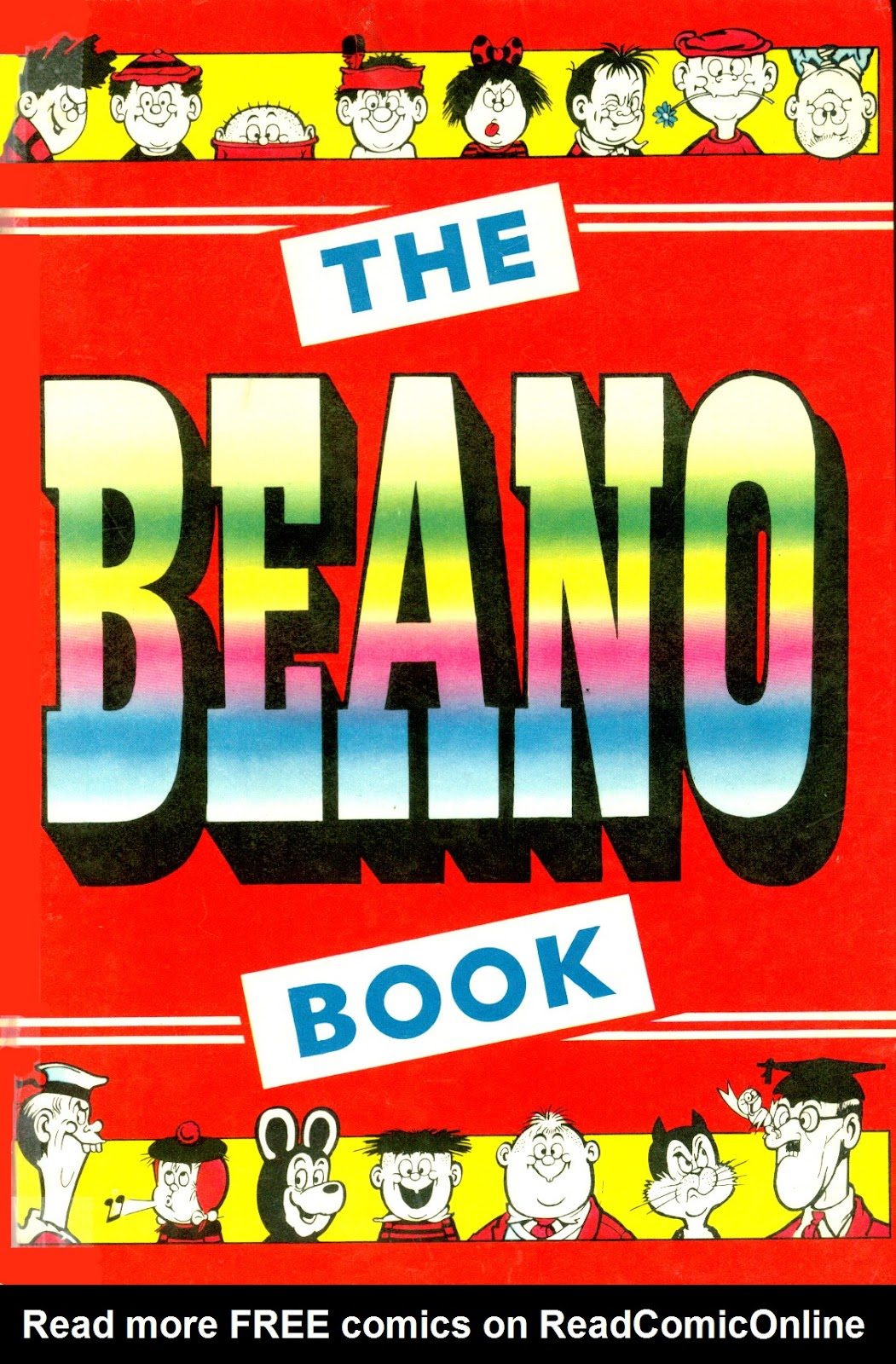 The Beano Book (Annual) 1961 Page 1